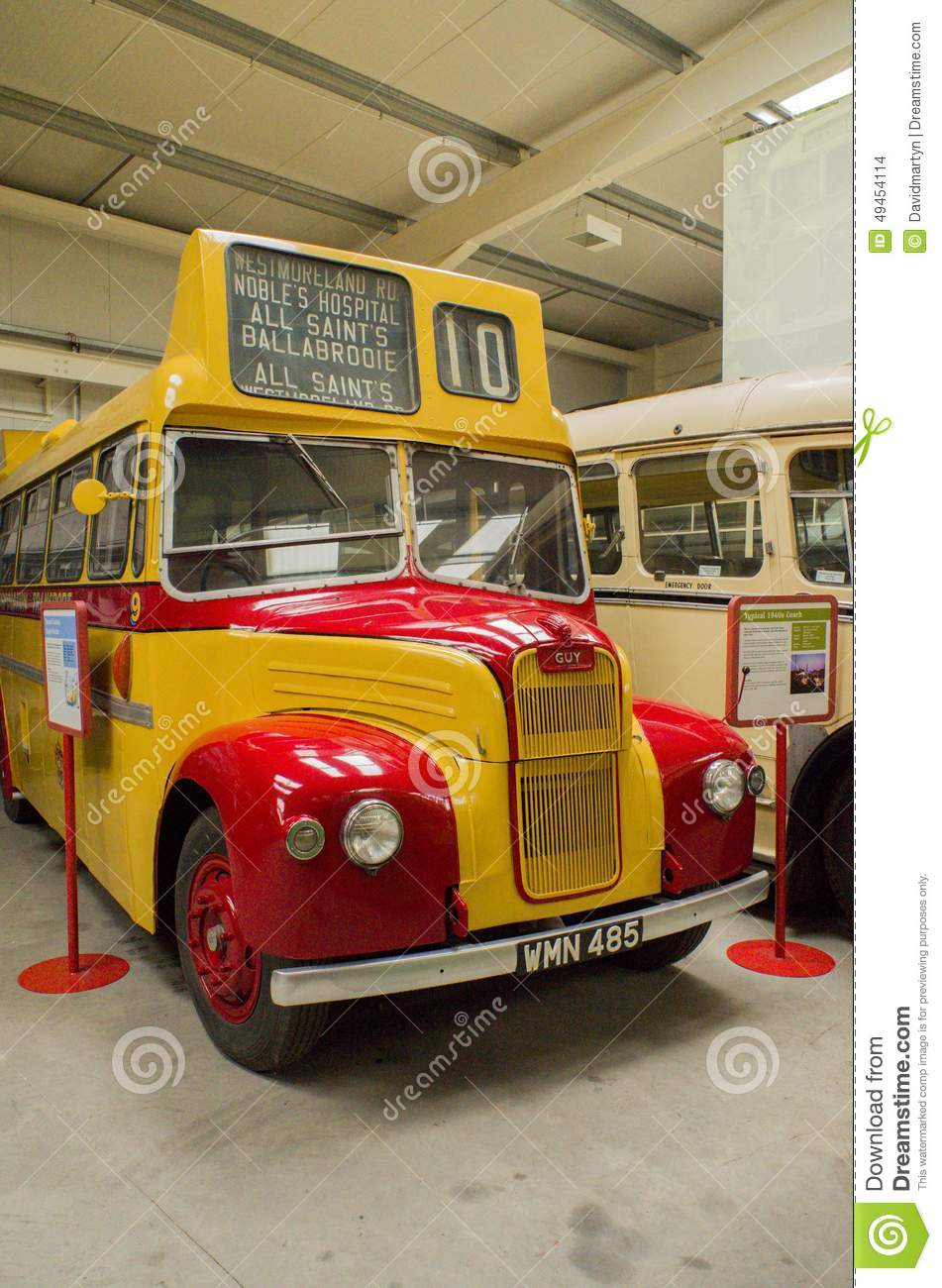 Bus And Transport Museum Editorial Stock Image Image Of Transportation 49454114