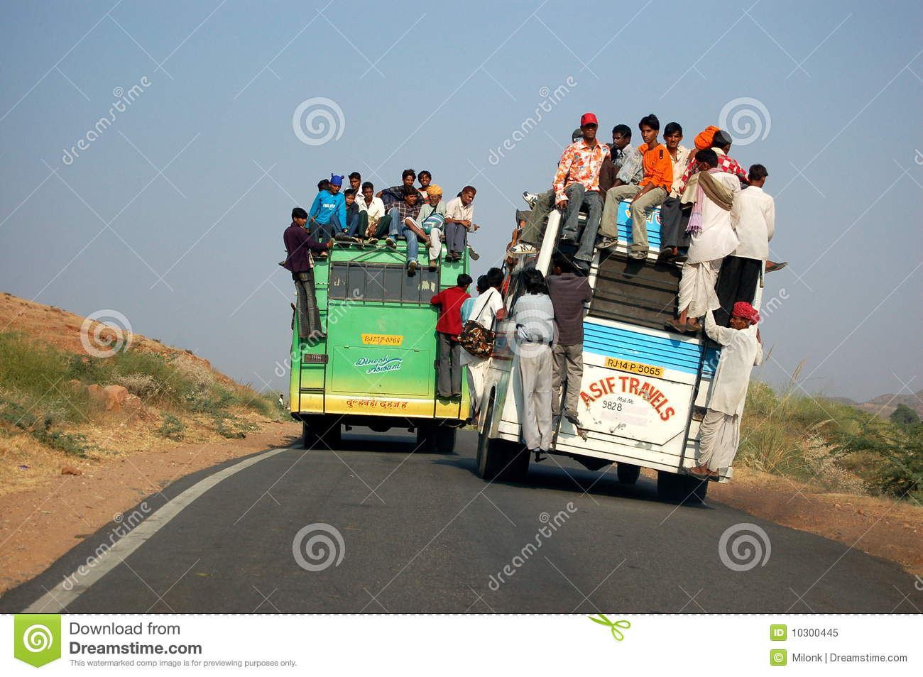 Bus Transportation In India Editorial Image - Image of rajasthan