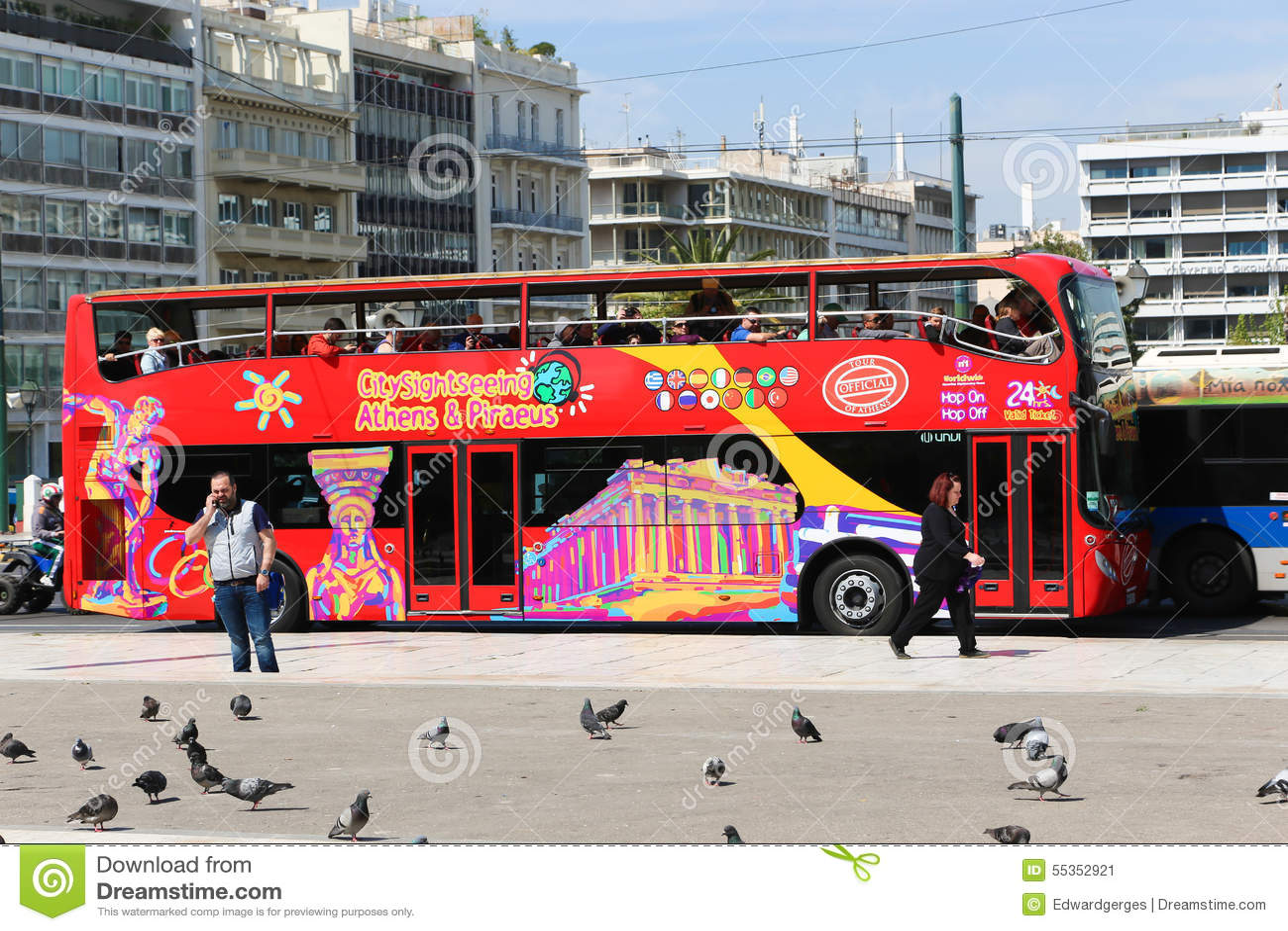 Bus turistico - Atene, Grecia