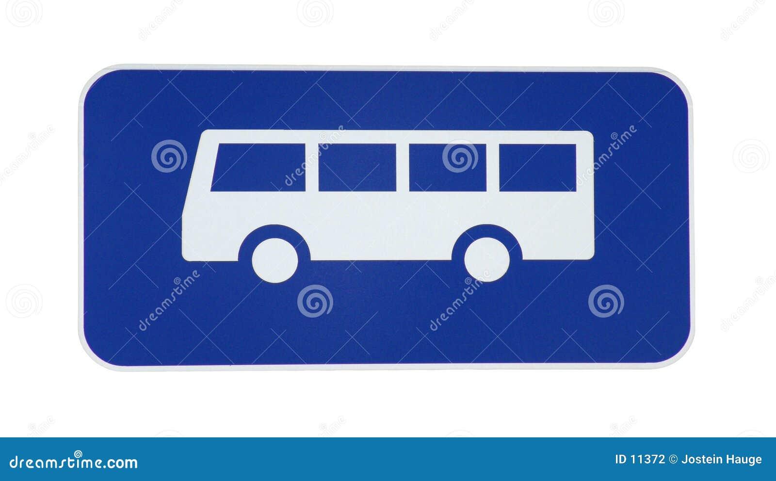 Bus-Zeichen