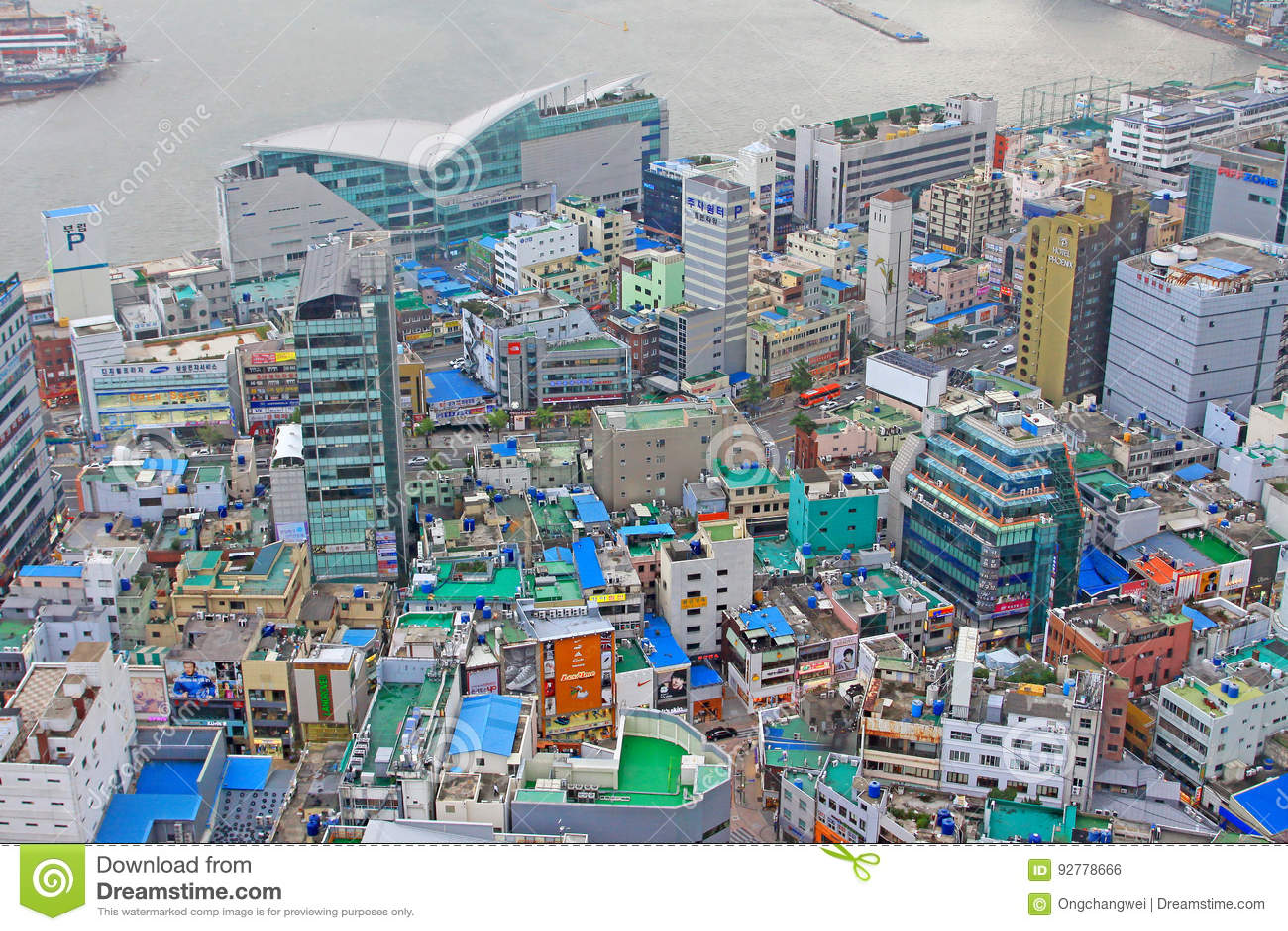 Busan pejzaż miejski