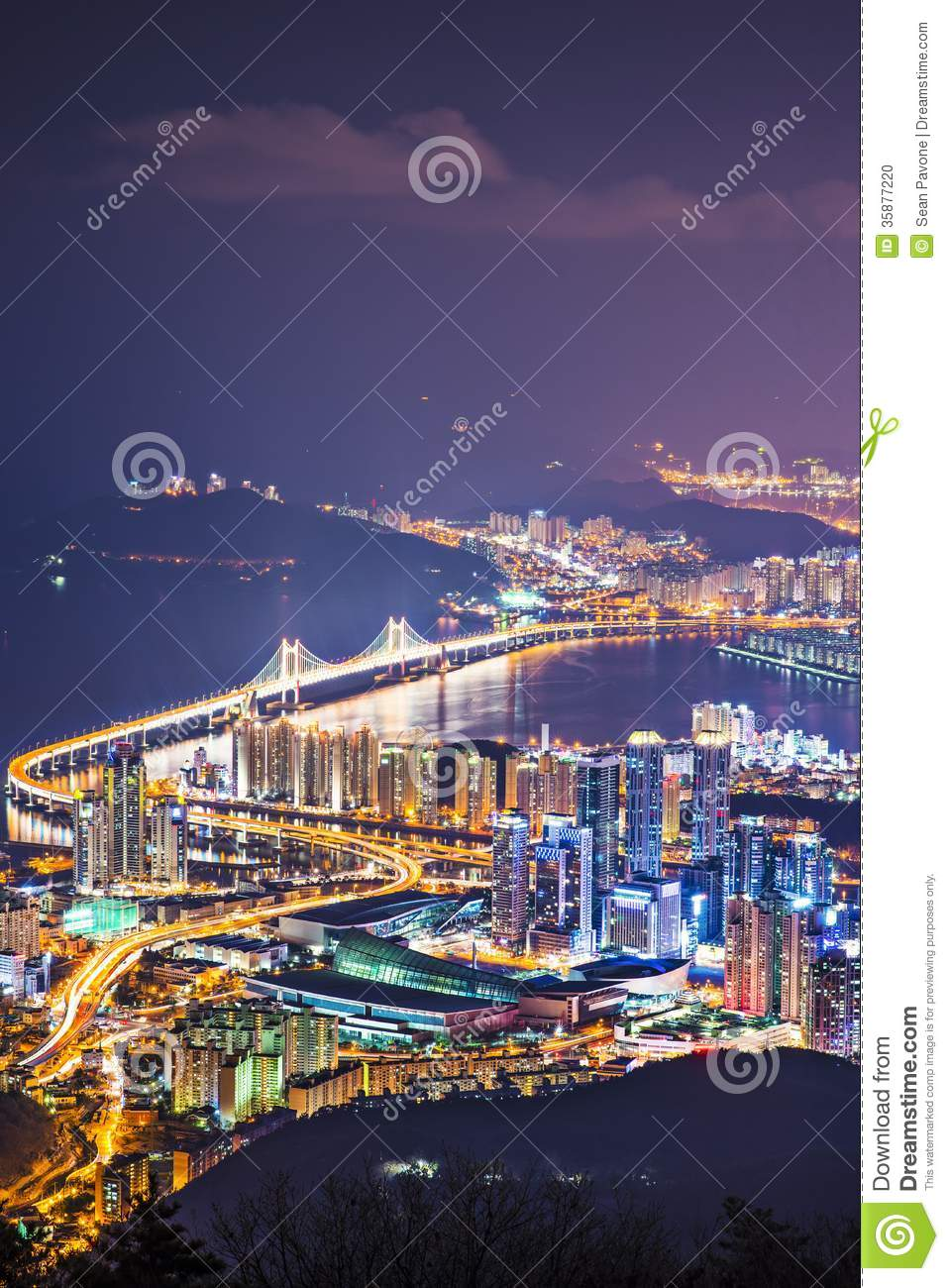 Busan South Korea  city pictures gallery : Busan South Korea Stock Photo Image: 35877220