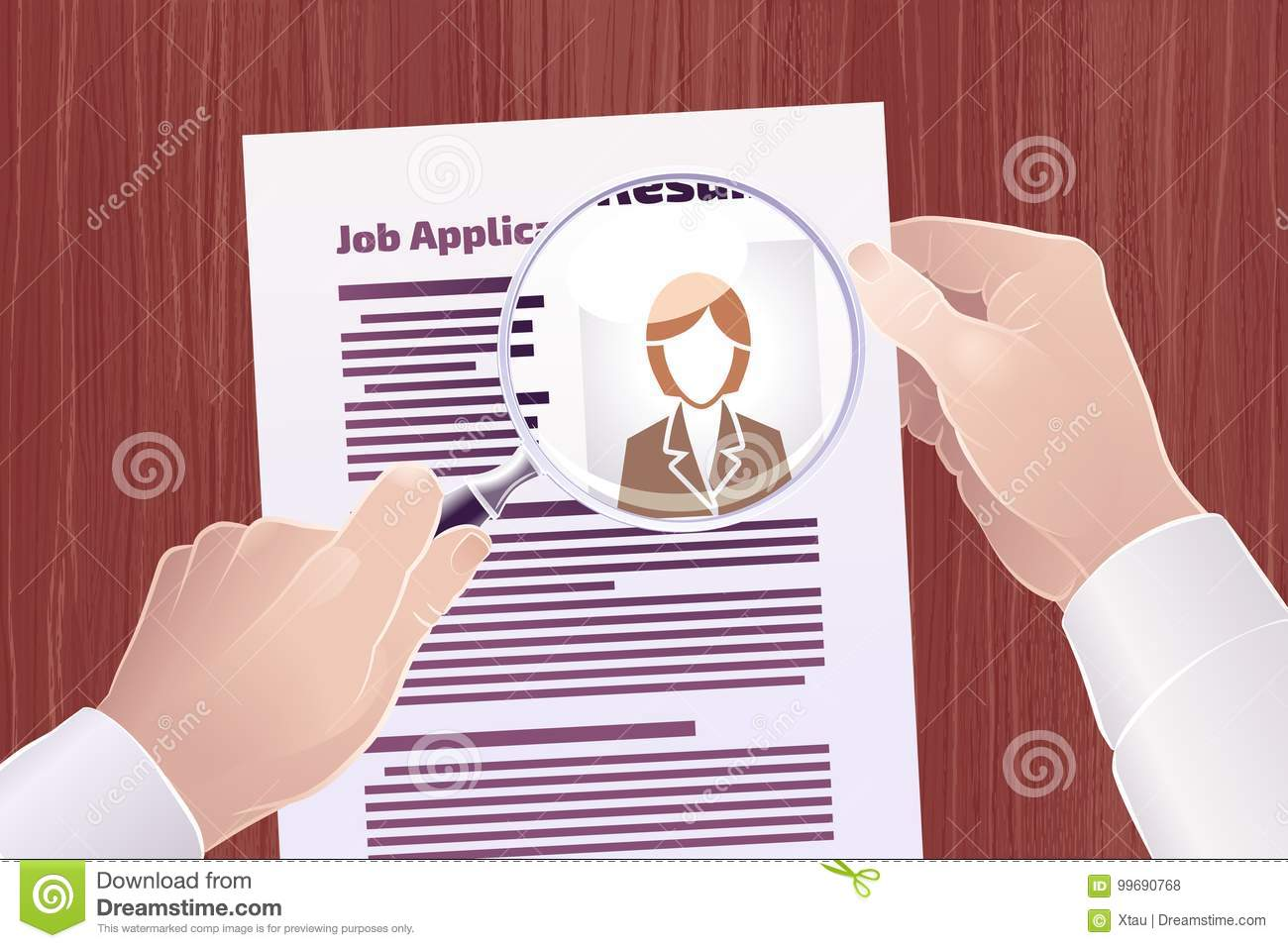 Busca de Job Application /Resume
