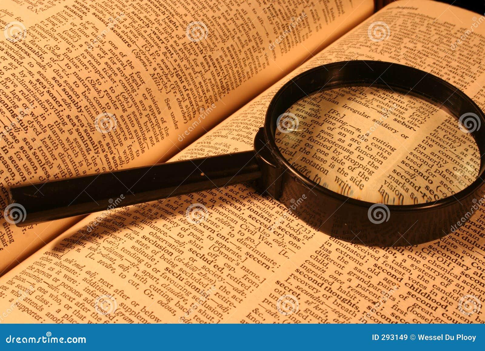 Busca do dicionário