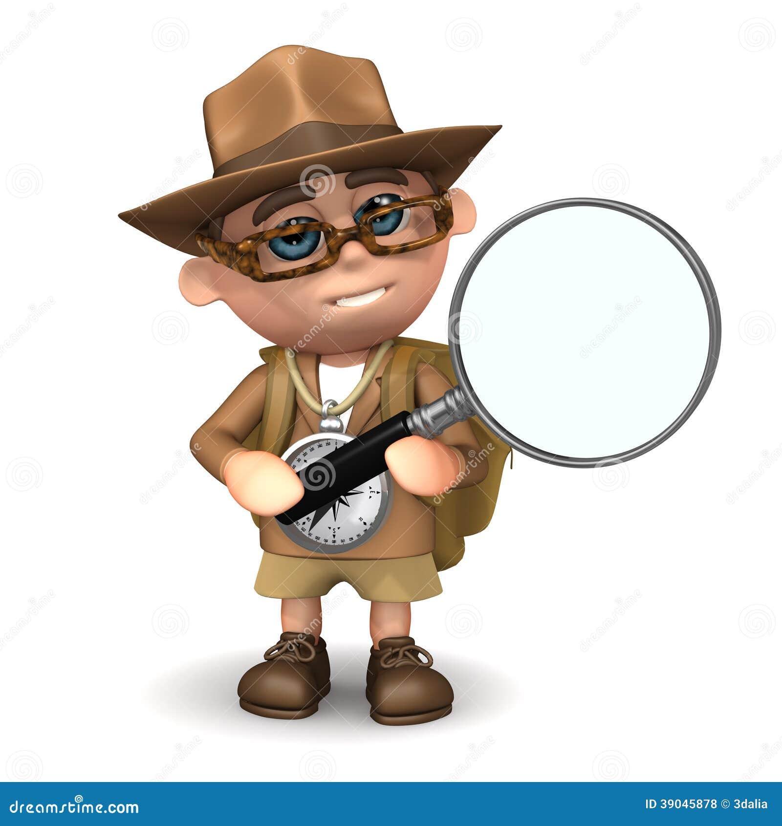 Buscas do explorador 3d