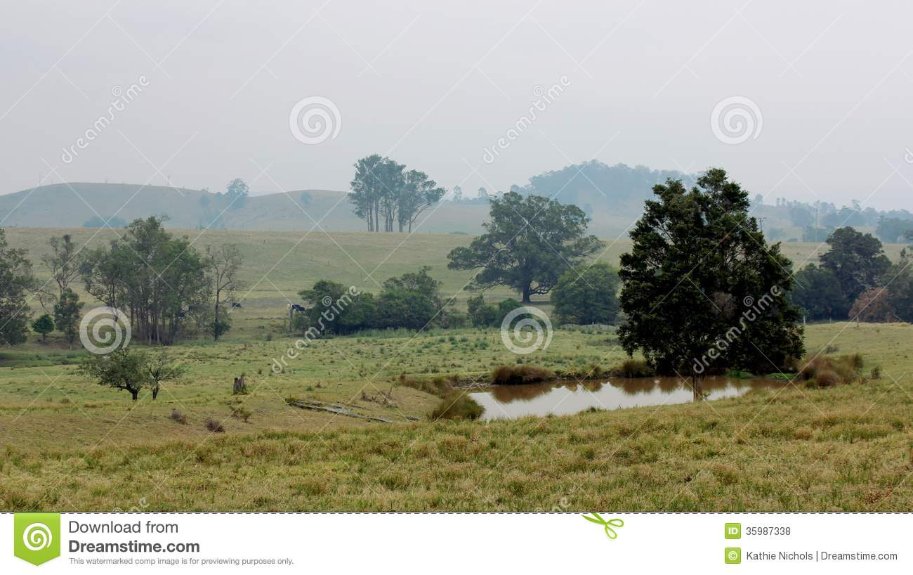Bushfire haze royalty free stock photos image 35987338 for Local landscapers
