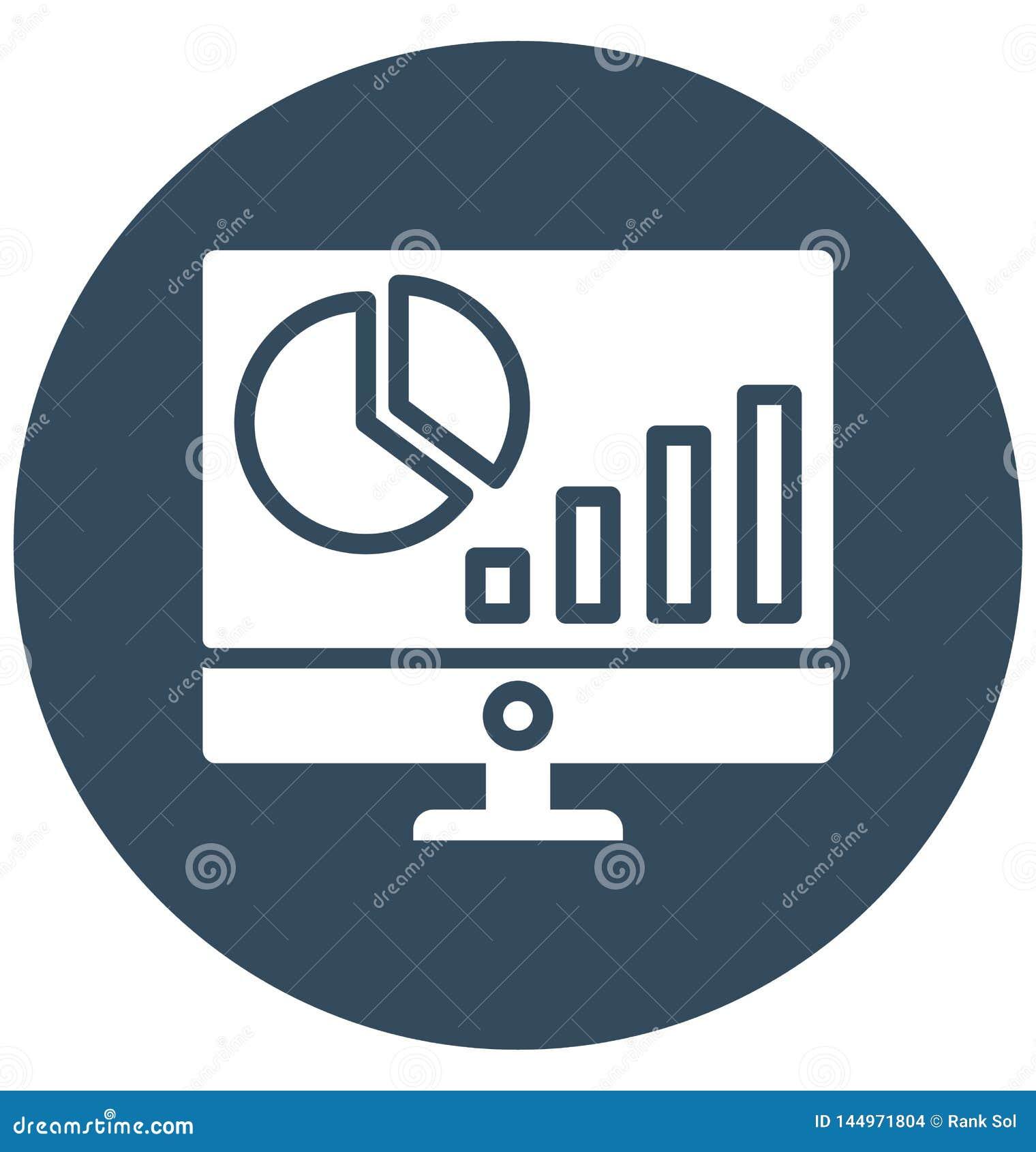 Busi Business-evaluatie isoleerde Vectorpictogram dat easilnessevaluatie Ge?soleerd Vectorpictogram kan dat zich gemakkelijk kan