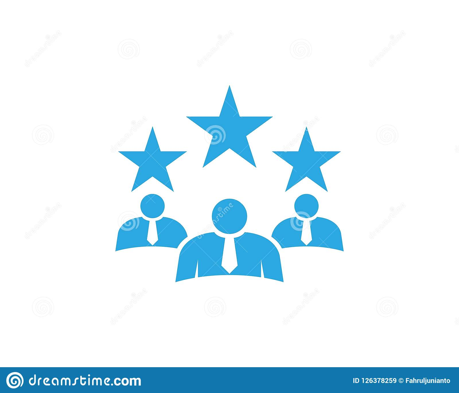busieness people logo vector template stock vector illustration of