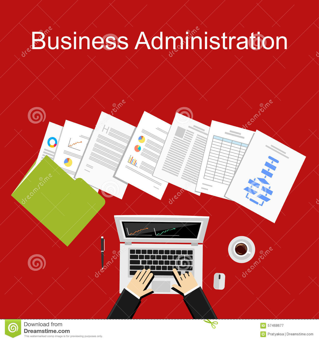 term paper business administration management