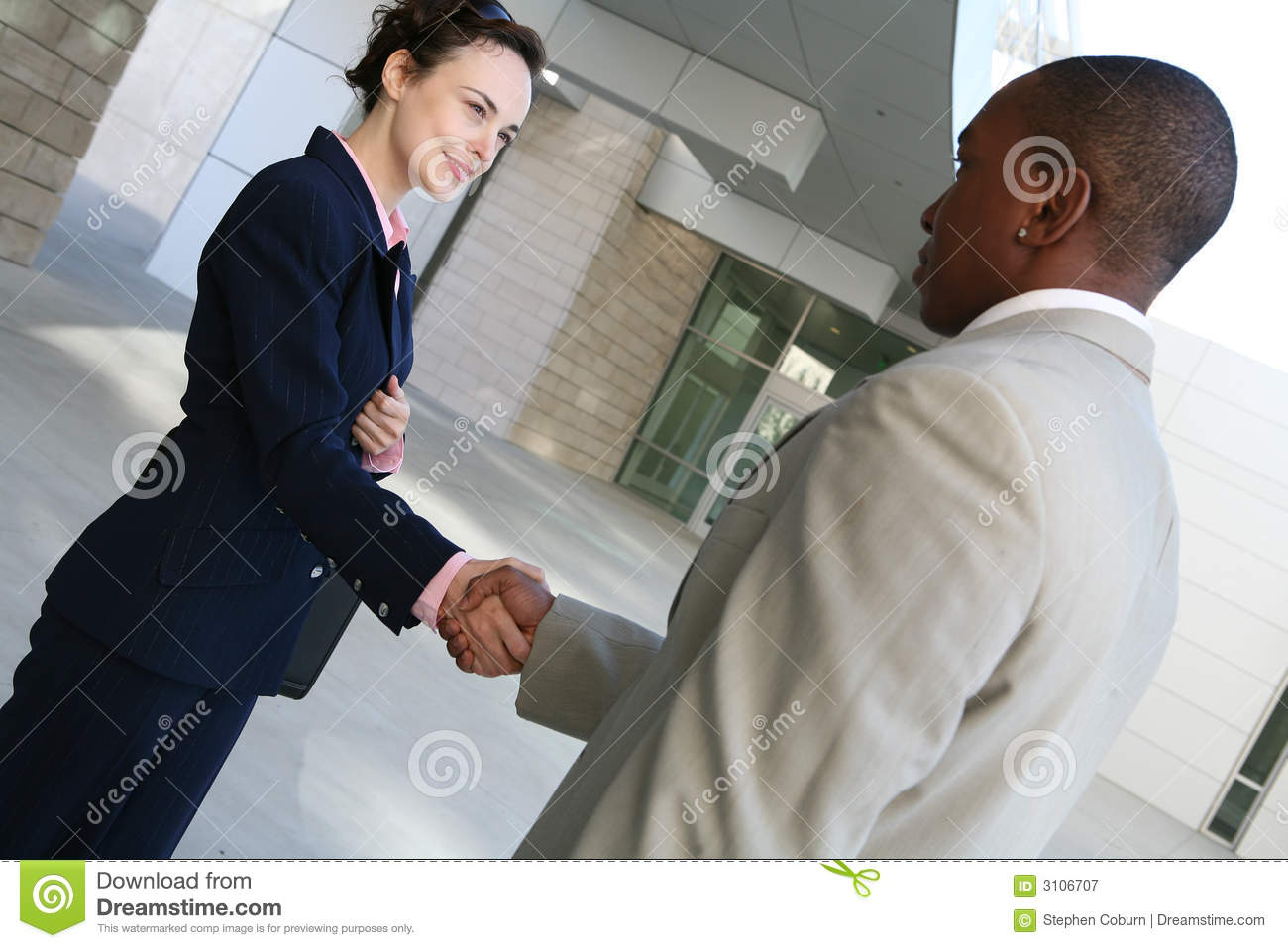 Business Agreement Royalty Free Stock Graphy Image