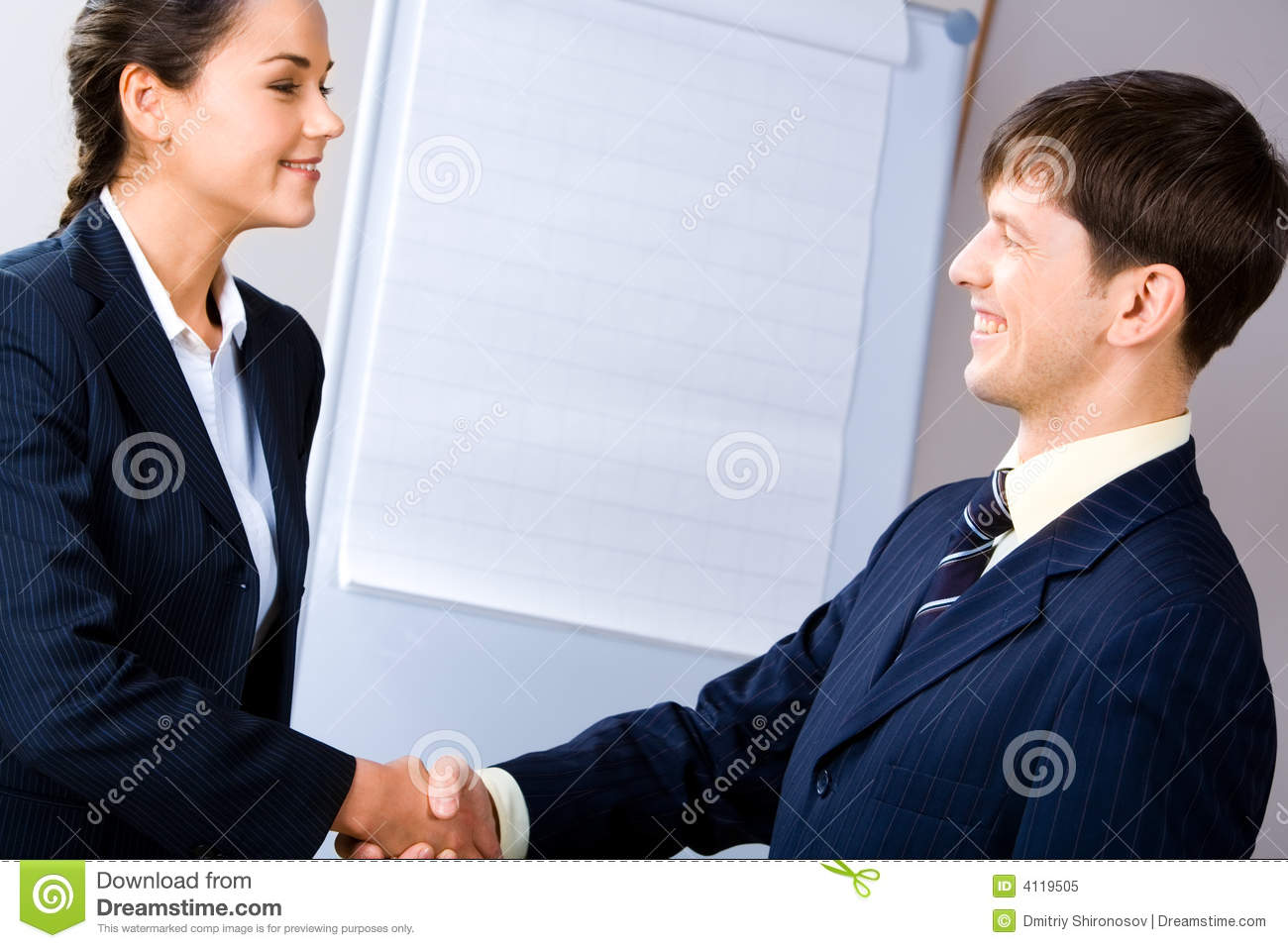 Business Agreement Royalty Free Stock Image