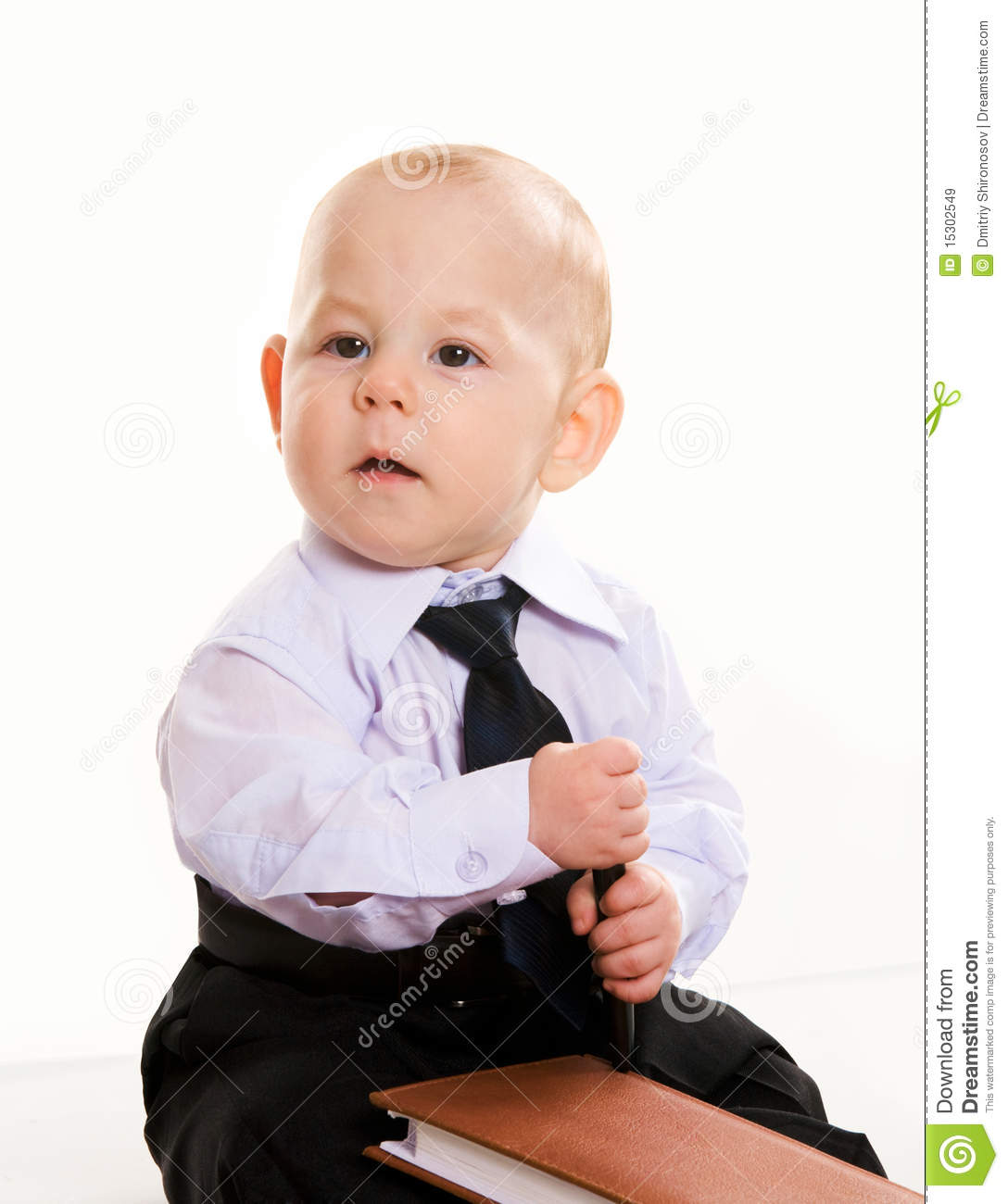 Business Baby Royalty Free Stock Images Image 15302549