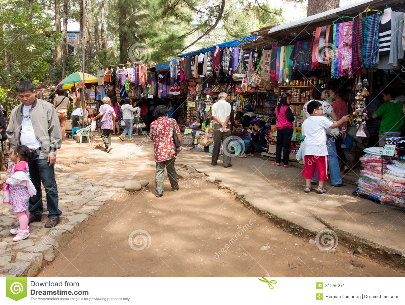 Business In Baguio City, Philippines Editorial Photo ...