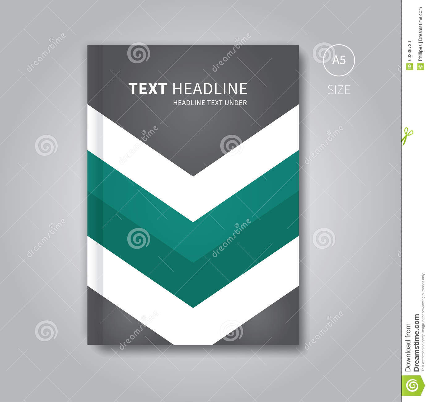 Book Cover Layout : Business book design front cover stock vector