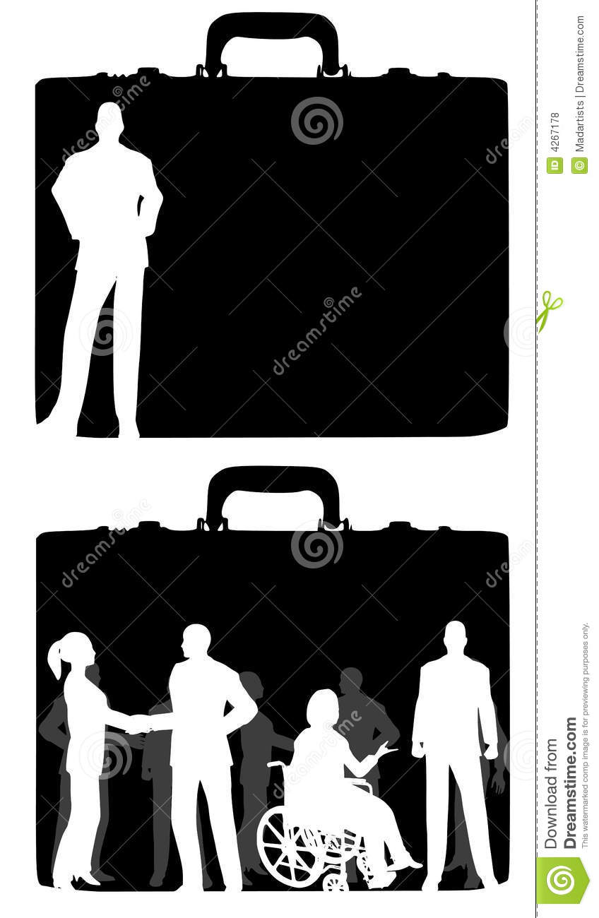 Business Briefcase People
