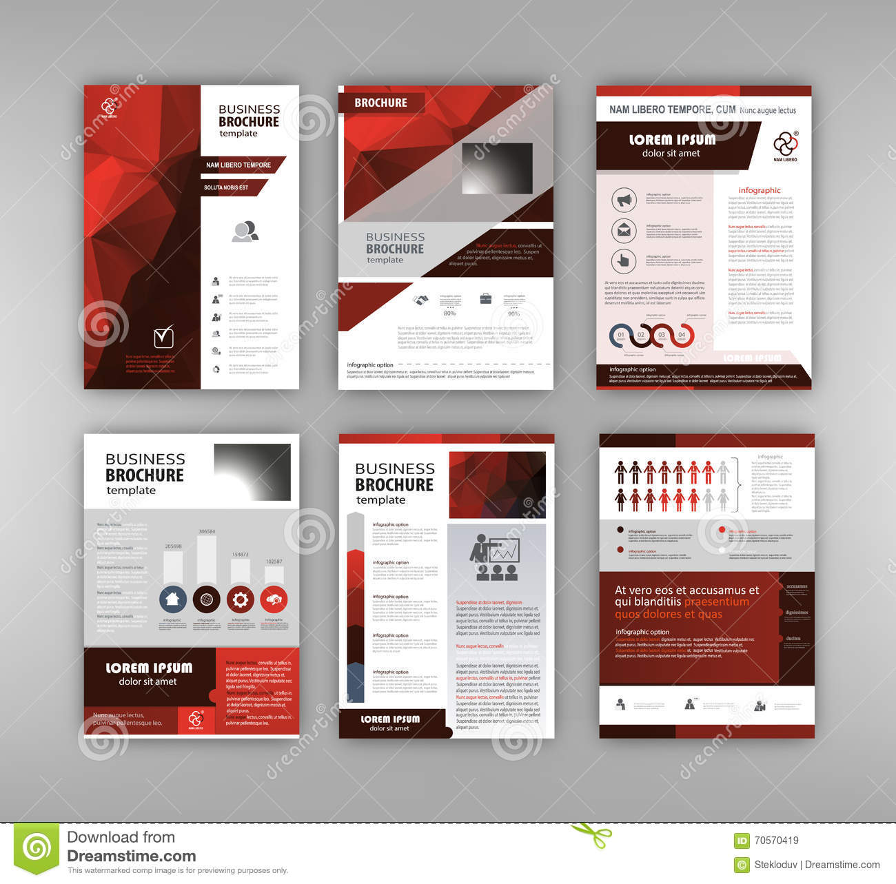 Business Brochure Design Vector Image 70570419 – Business Brochure Design