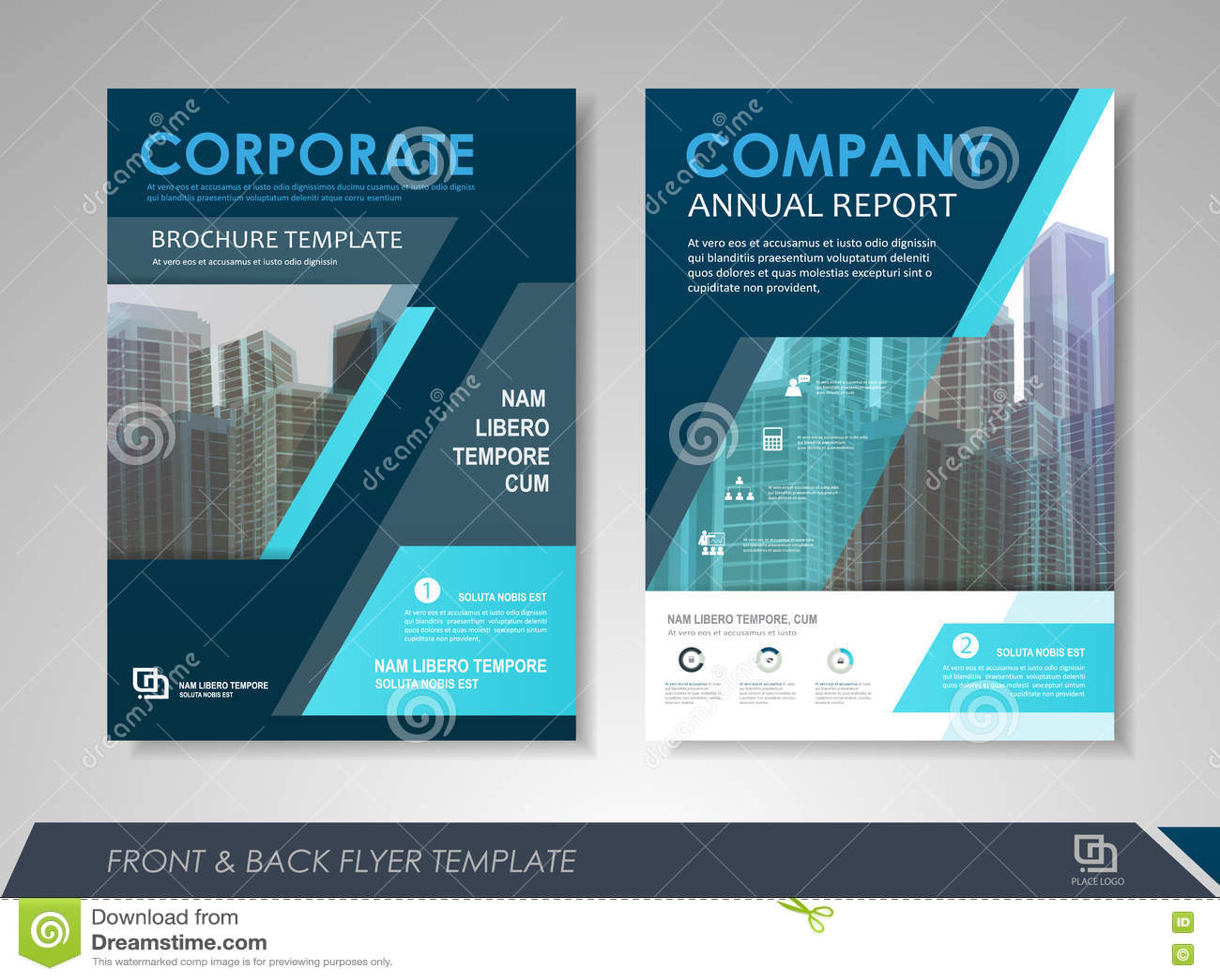 business brochure design template stock vector illustration of