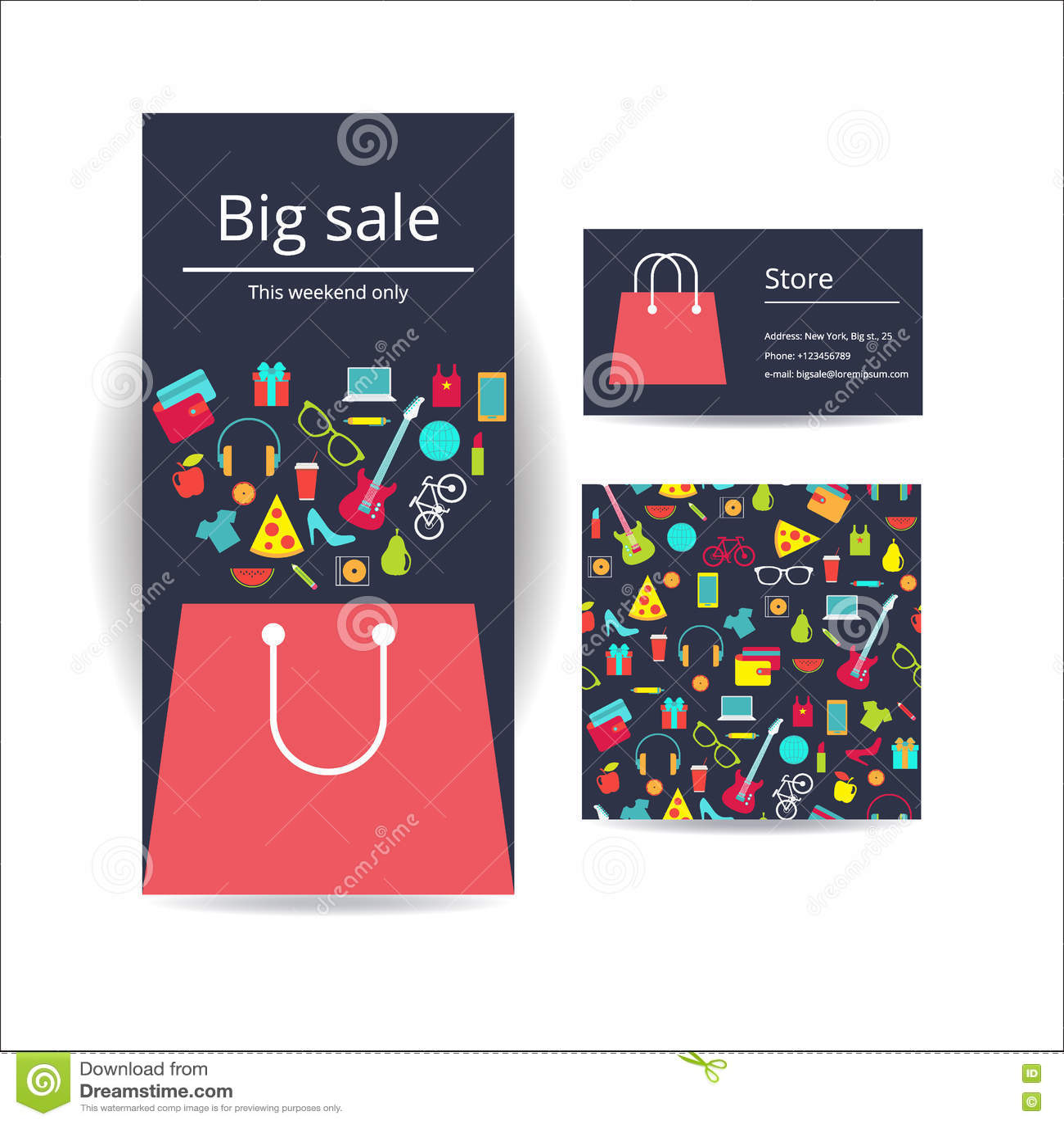 Business brochure flyer banner business card and card with seam business brochure flyer banner business card and card with seam magicingreecefo Images