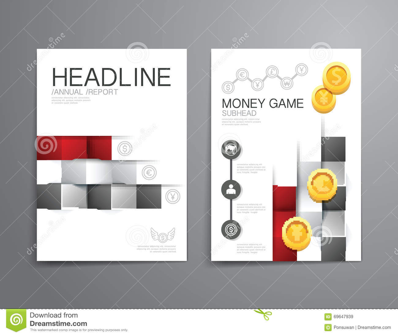 report cover template free template royaltyfree cover report – Free Report Cover Templates