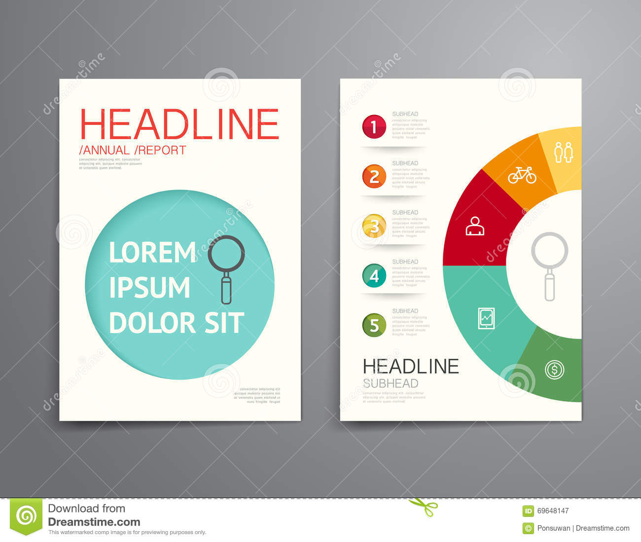 Vector Brochure Flyer Magazine Folder T Shirt Cover: Business Brochure, Flyer, Magazine Cover Design Template