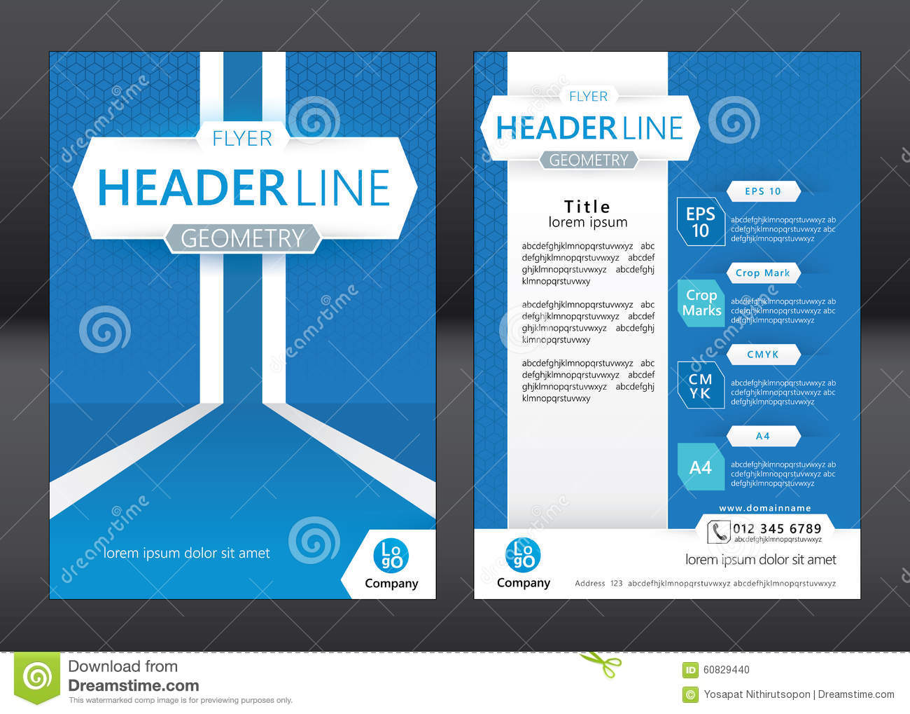thumbsdreamstimecomzbusiness brochure template