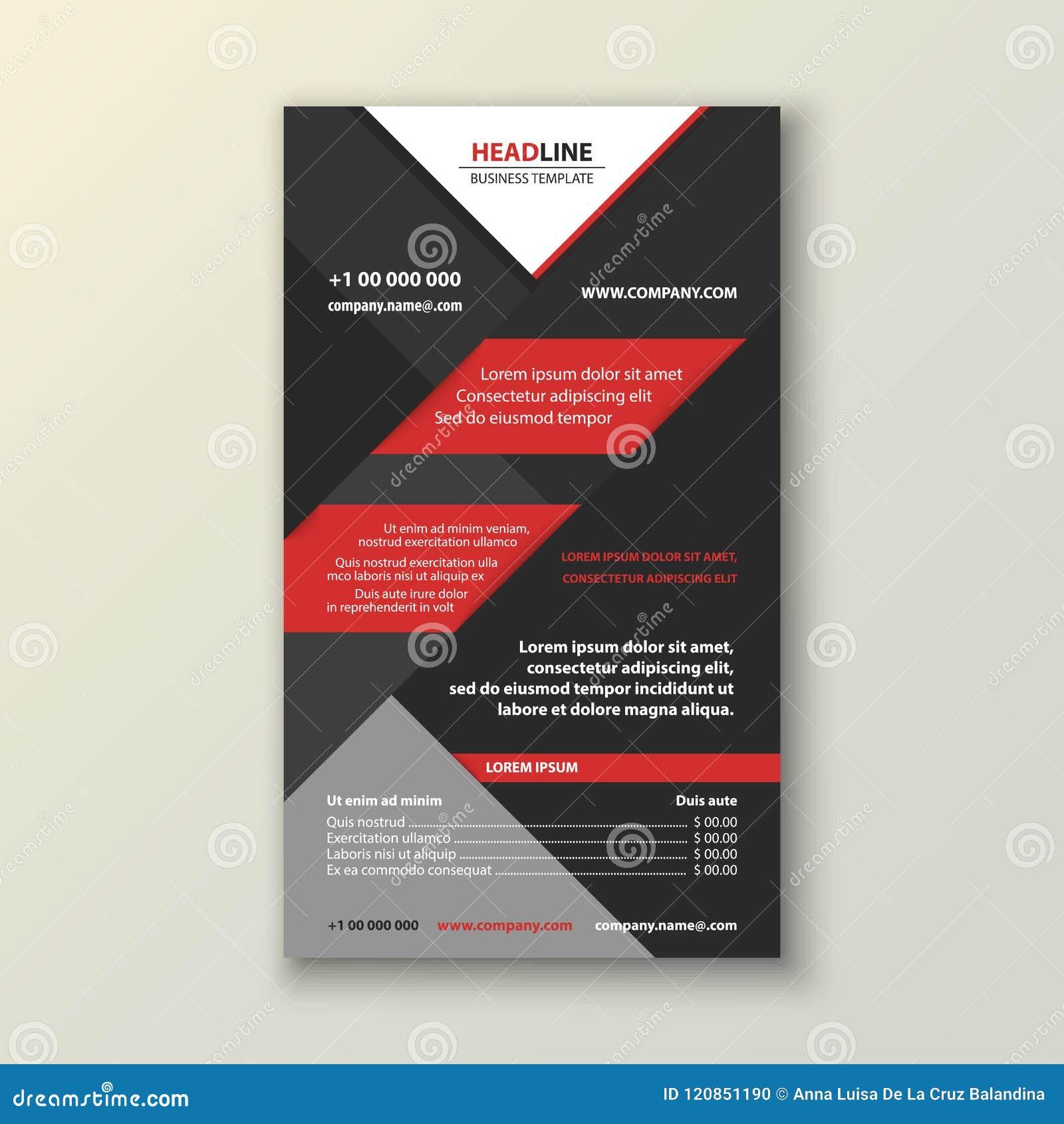 business brochure template stock vector illustration of idea