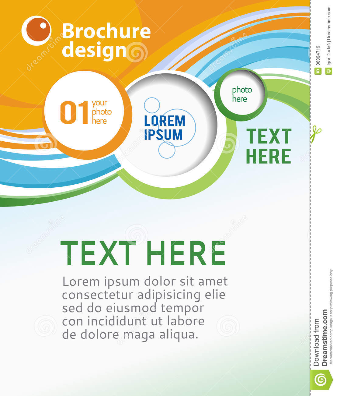 Business brochure template stock illustration illustration of business brochure template accmission Images