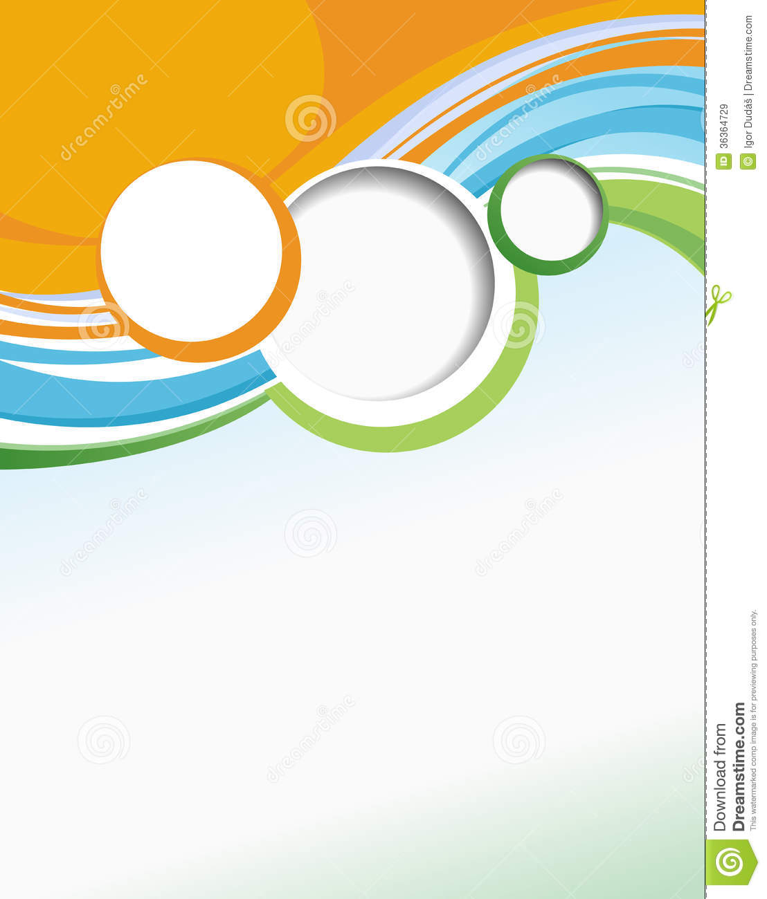 business brochure template stock illustration illustration of curve