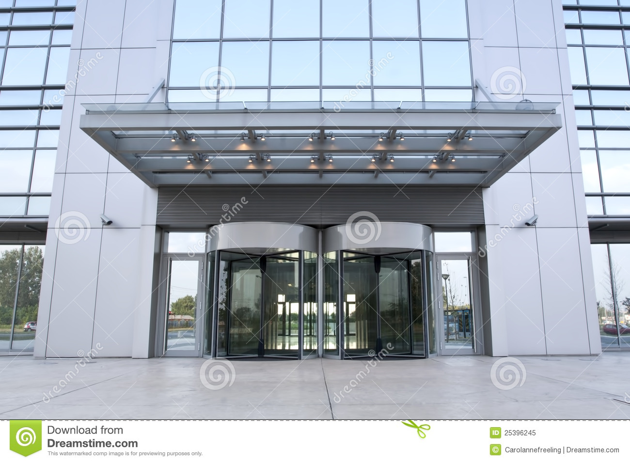 Business Building Entrance Stock Image Image Of Exit