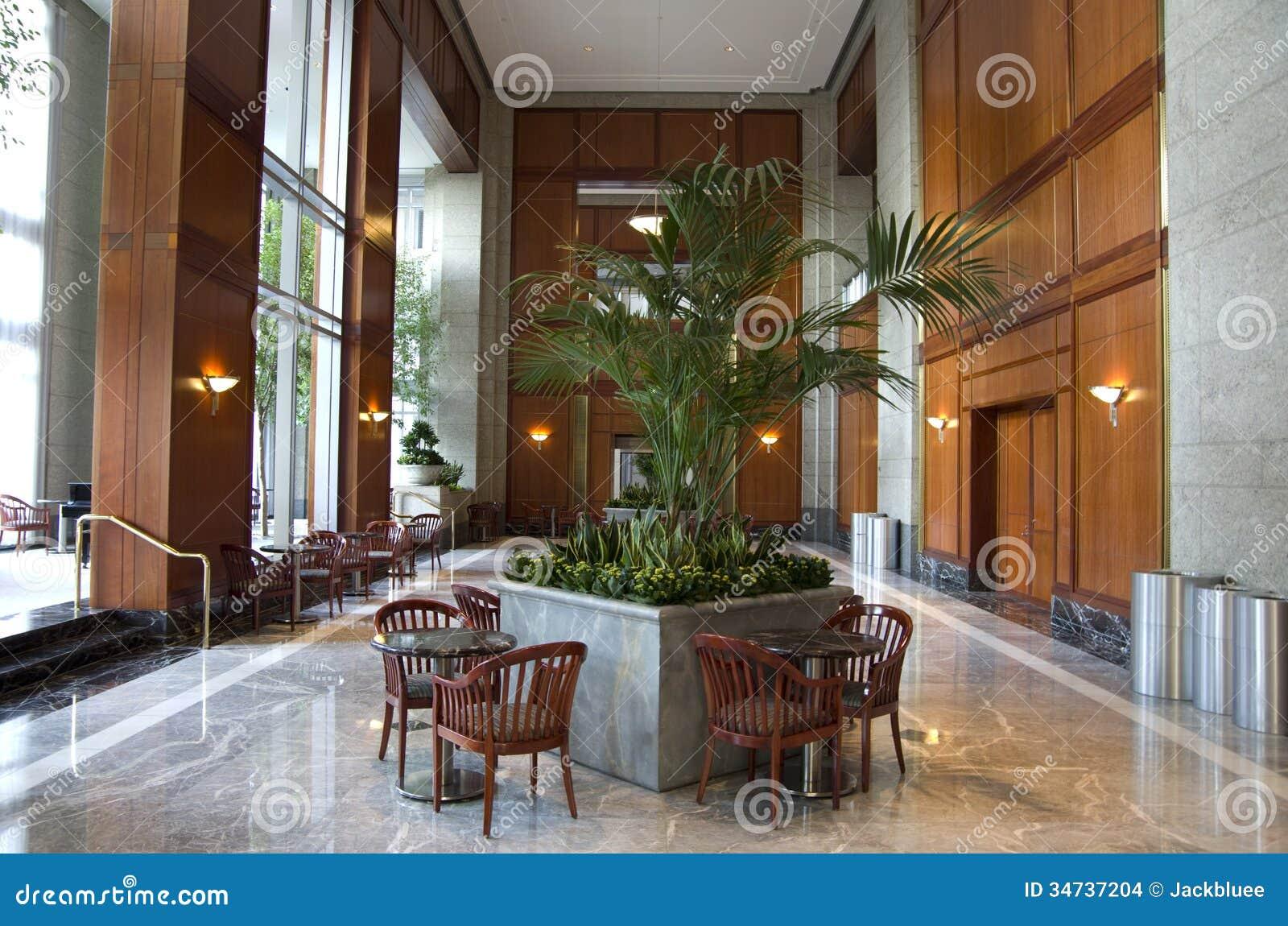 Business Building Lobby Interior Interiors Design Designs Stock