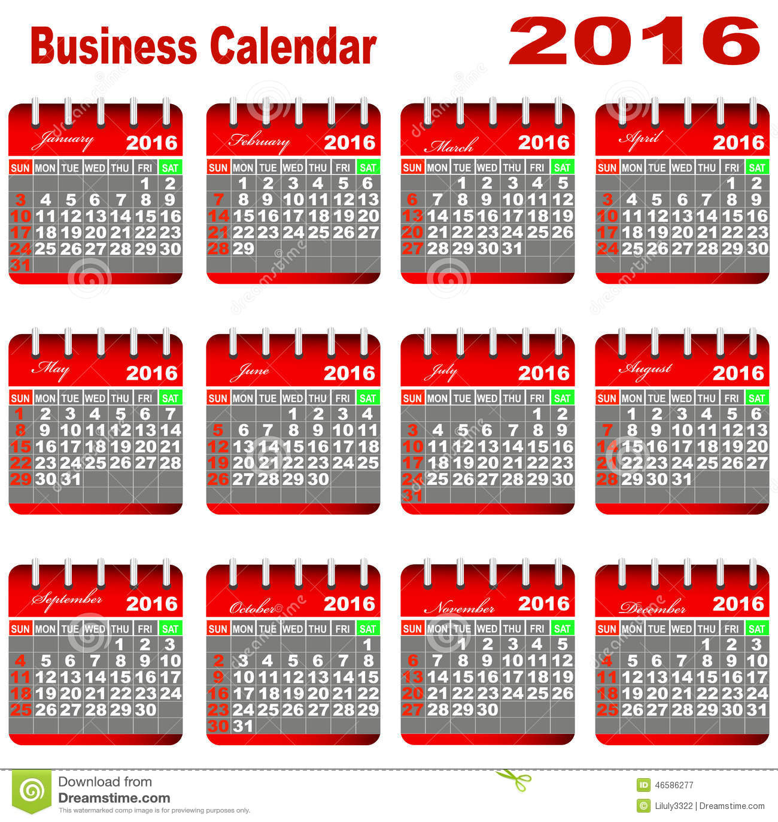 business planners 2016 calendar