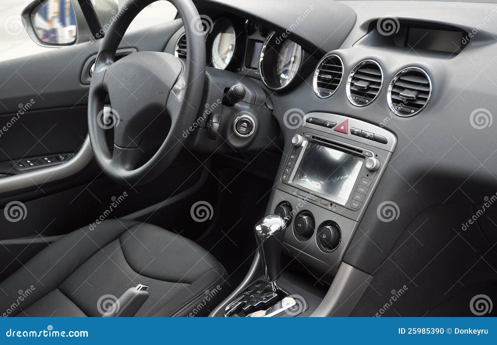 business car interior stock photo image 25985390. Black Bedroom Furniture Sets. Home Design Ideas