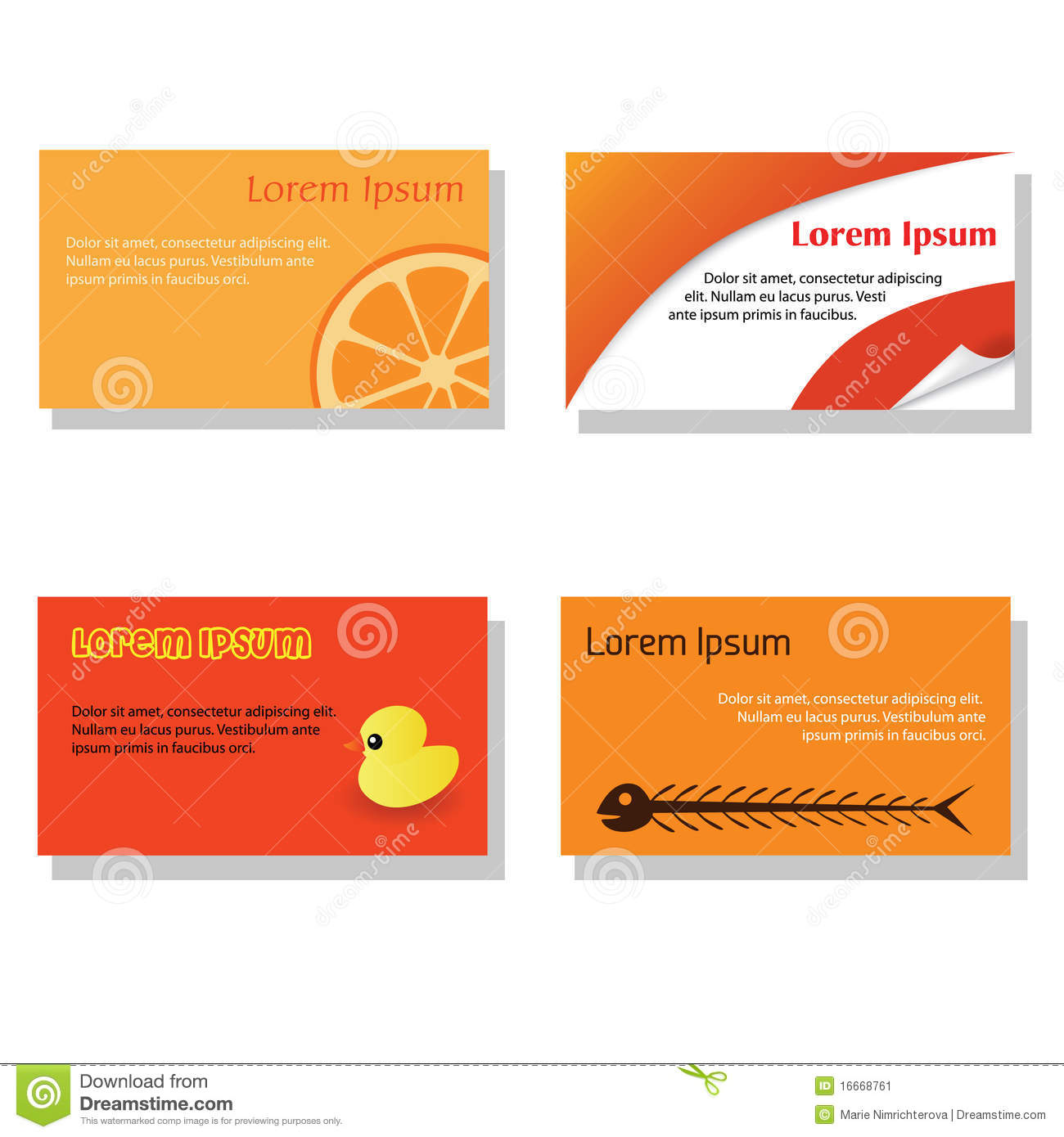 Stock Image Business card Image