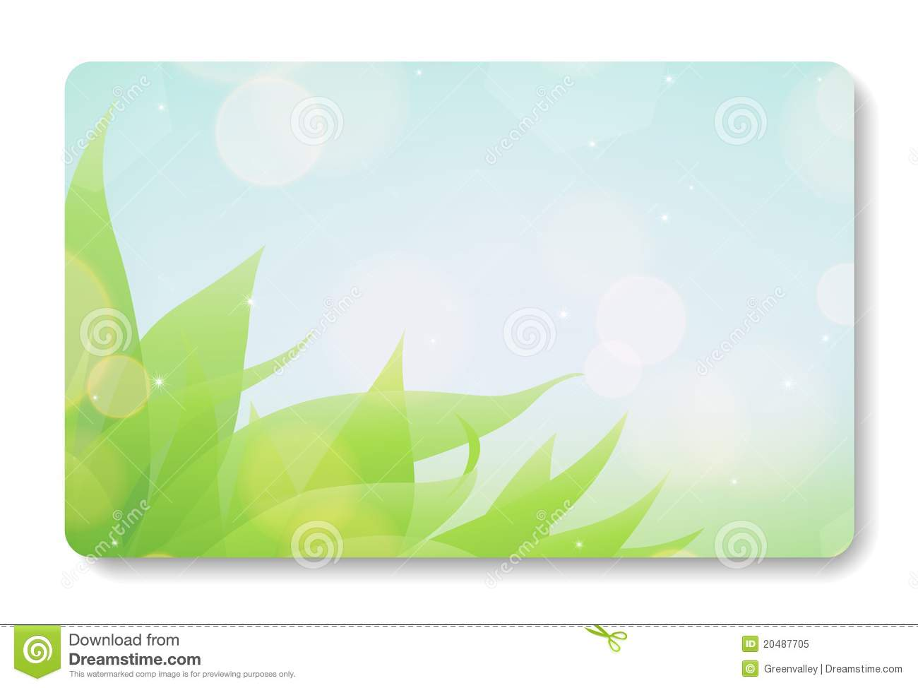 Business Card Background Stock Image - Image: 20487701