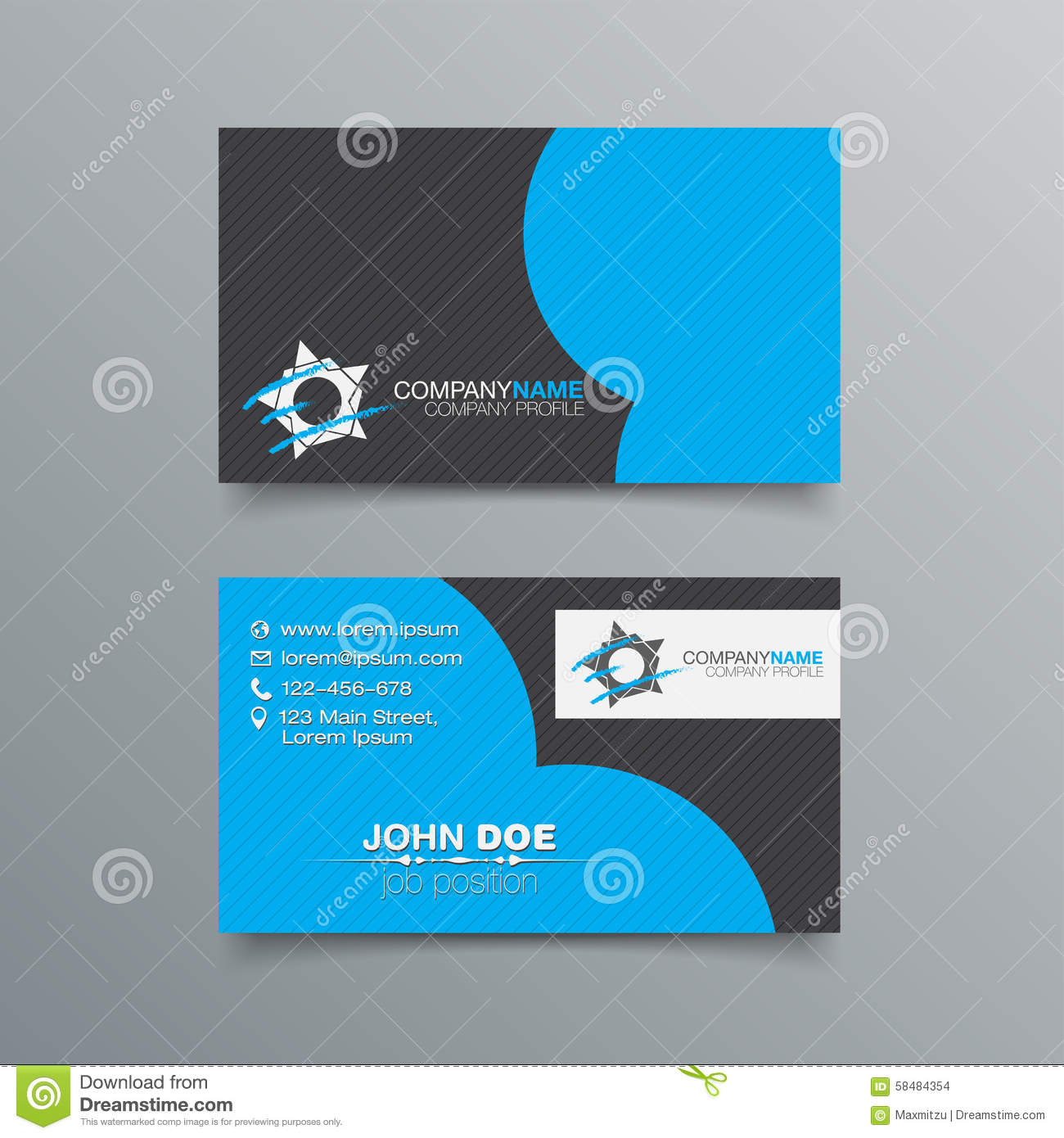 Business card background design stock illustration image for Business card background vector