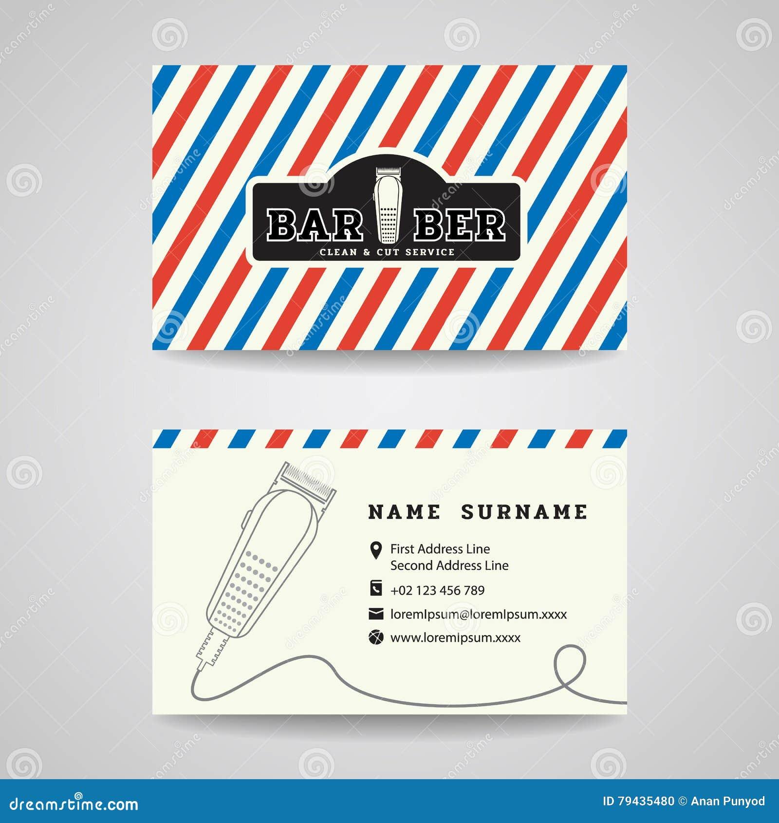 barber logos business cards - photo #11
