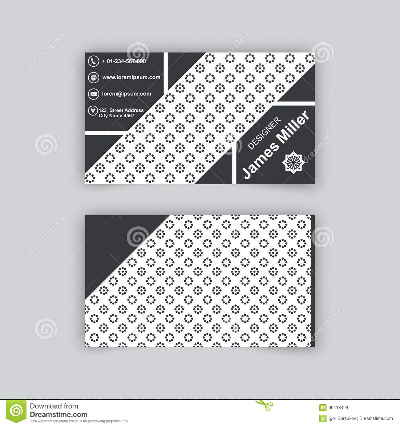 Business card blank template stock vector illustration of mobile download business card blank template stock vector illustration of mobile name 99418424 accmission Choice Image