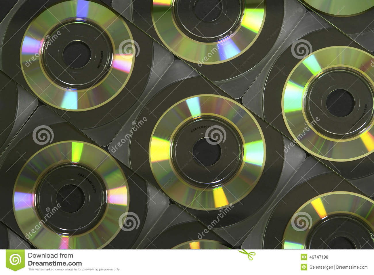 Business Card CD-Rom stock photo. Image of software, anguler - 46747188