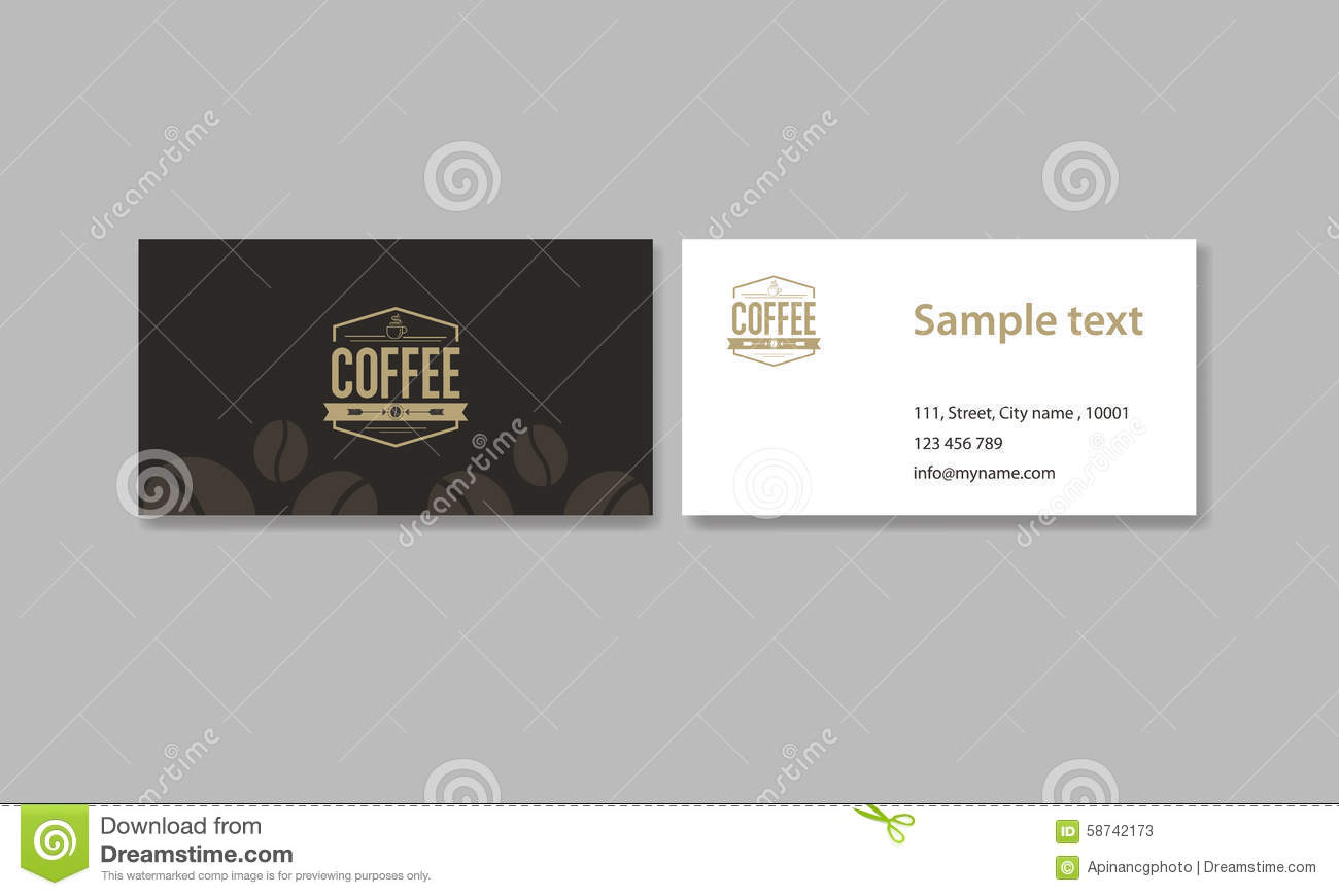 Business card for coffee shop and restaurant and coffee logo business card for coffee shop and restaurant and coffee logo wajeb