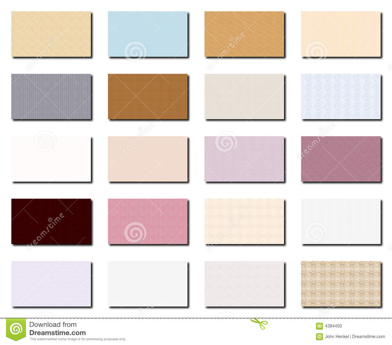 Business card collection 1 stock photo image 4384450 for Business card collection