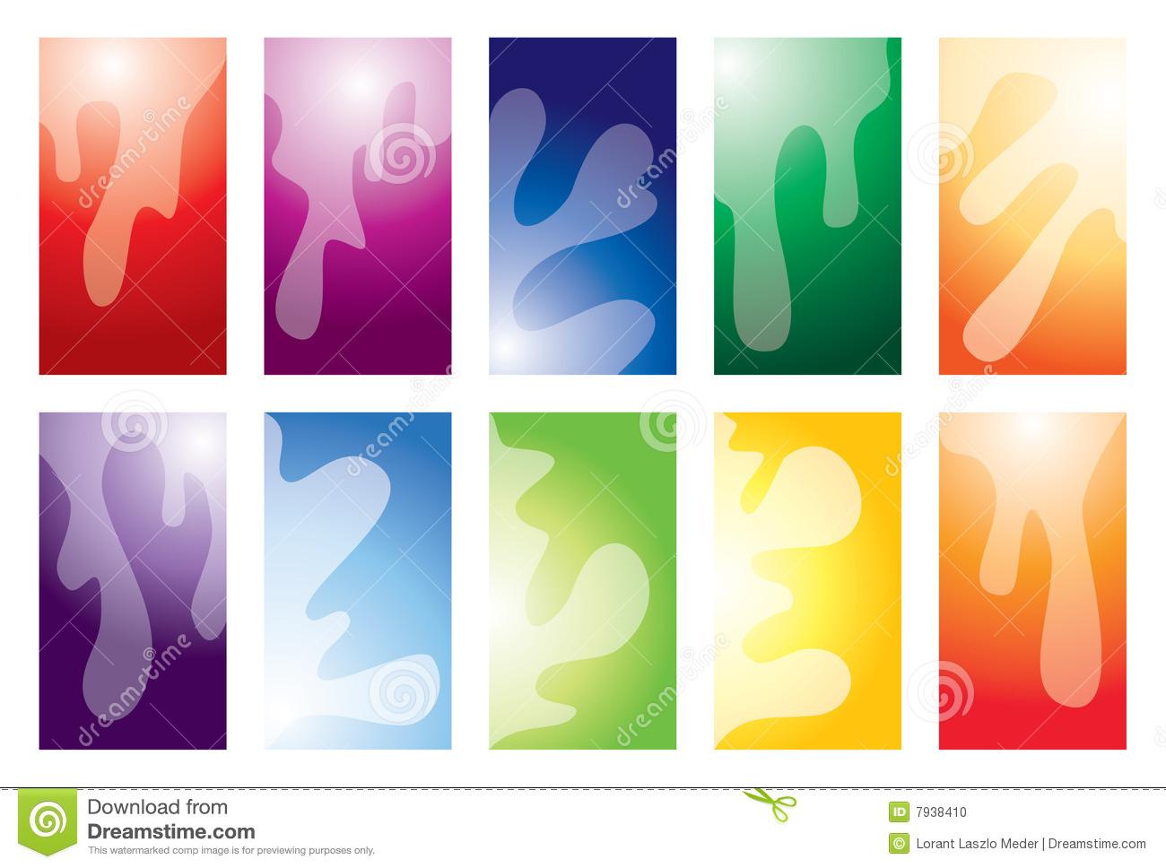 Business card collection stock photo image 7938410 for Business card collection