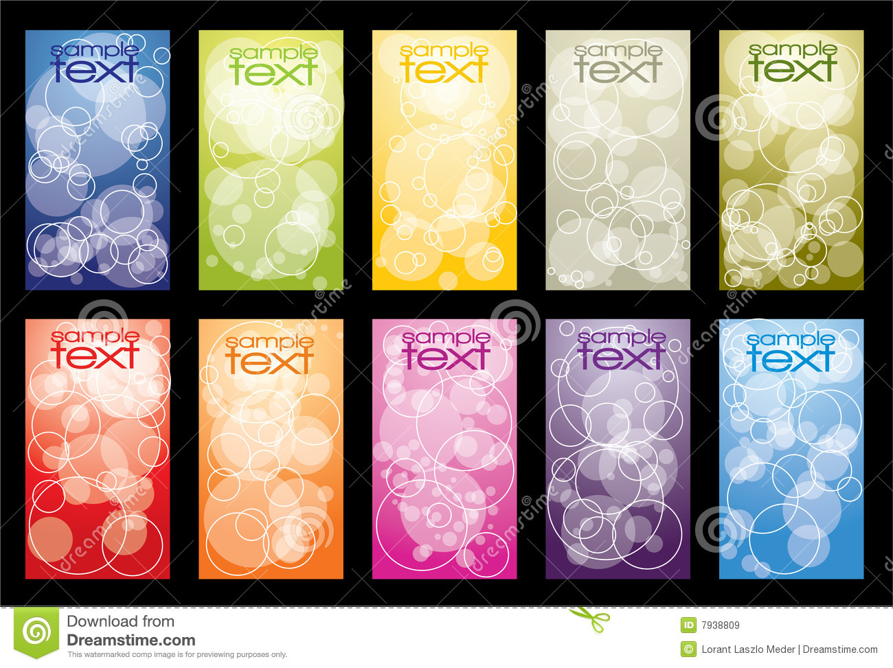 Business card collection royalty free stock images image for Business card collection