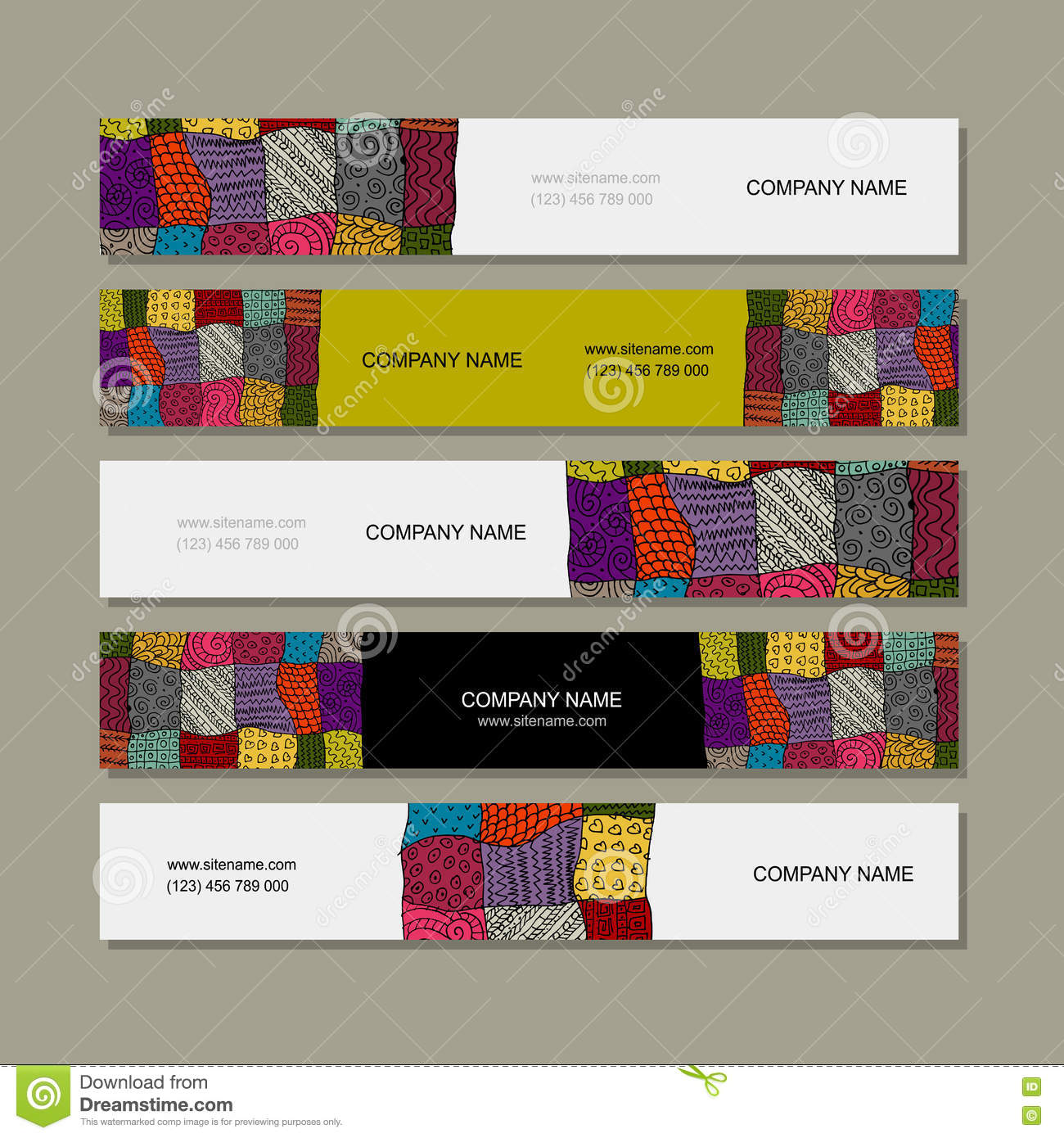 Business card collection images free business cards business card collection patchwork carpet design stock vector business card collection patchwork carpet design magicingreecefo images magicingreecefo Image collections