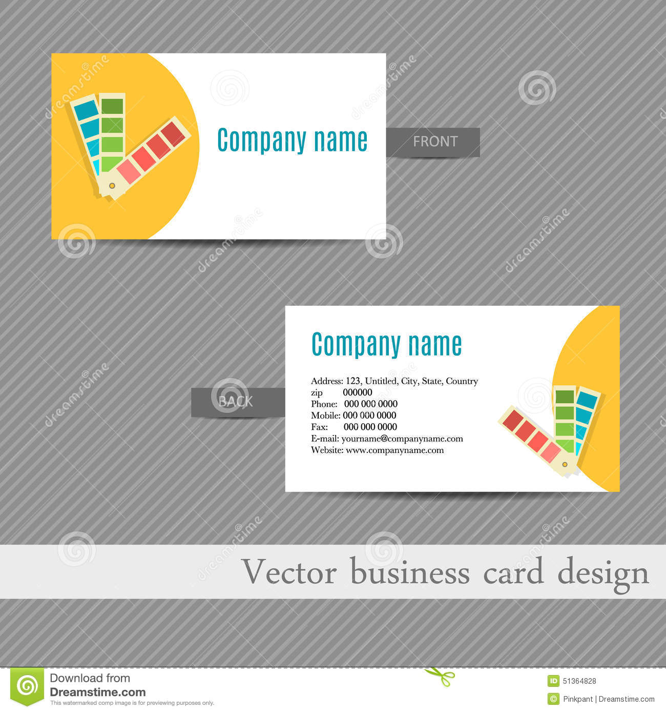 Business card design for an advertising agency stock illustration business card design for an advertising agency magicingreecefo Choice Image