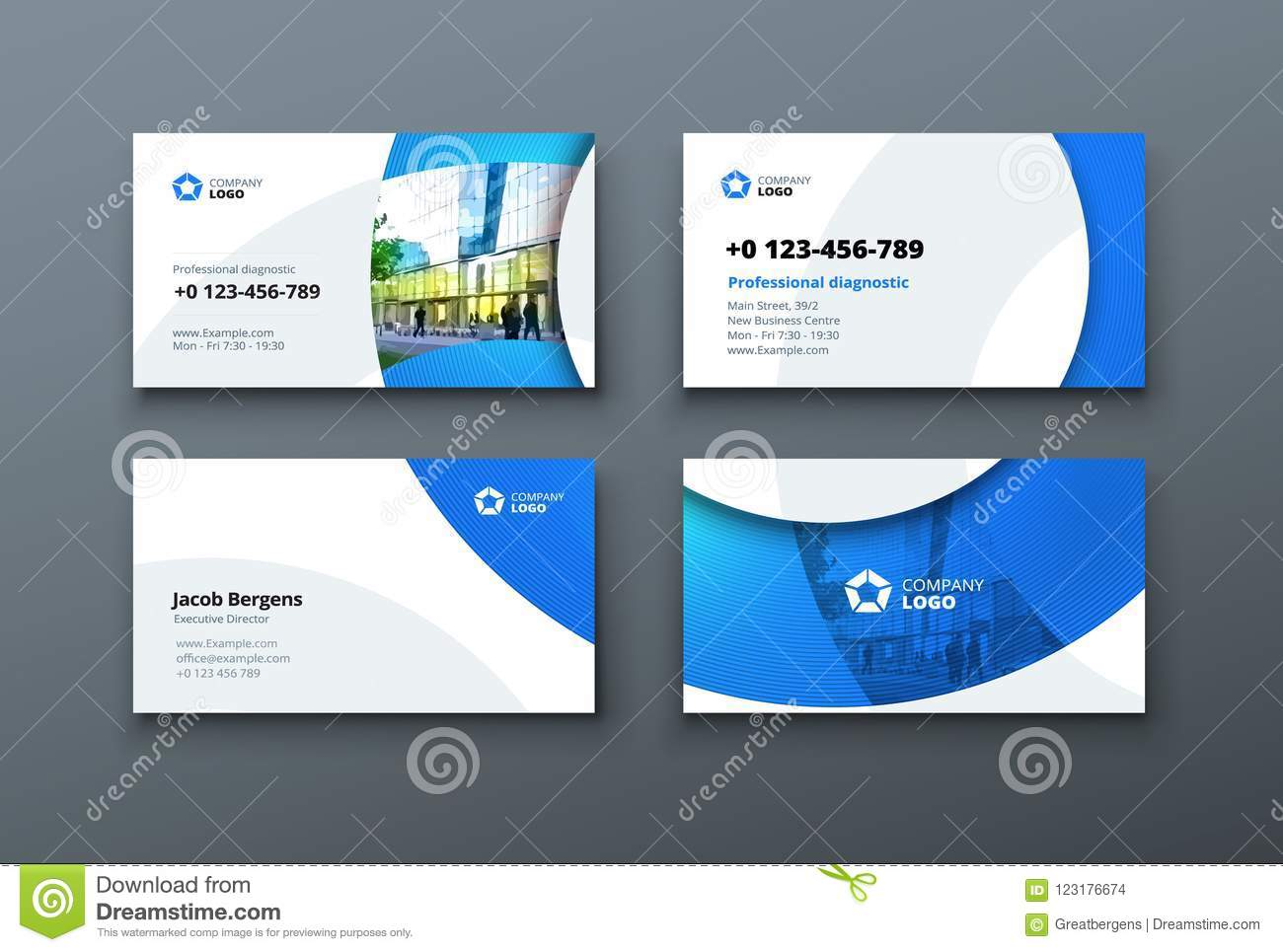 business card design business card template for personal or