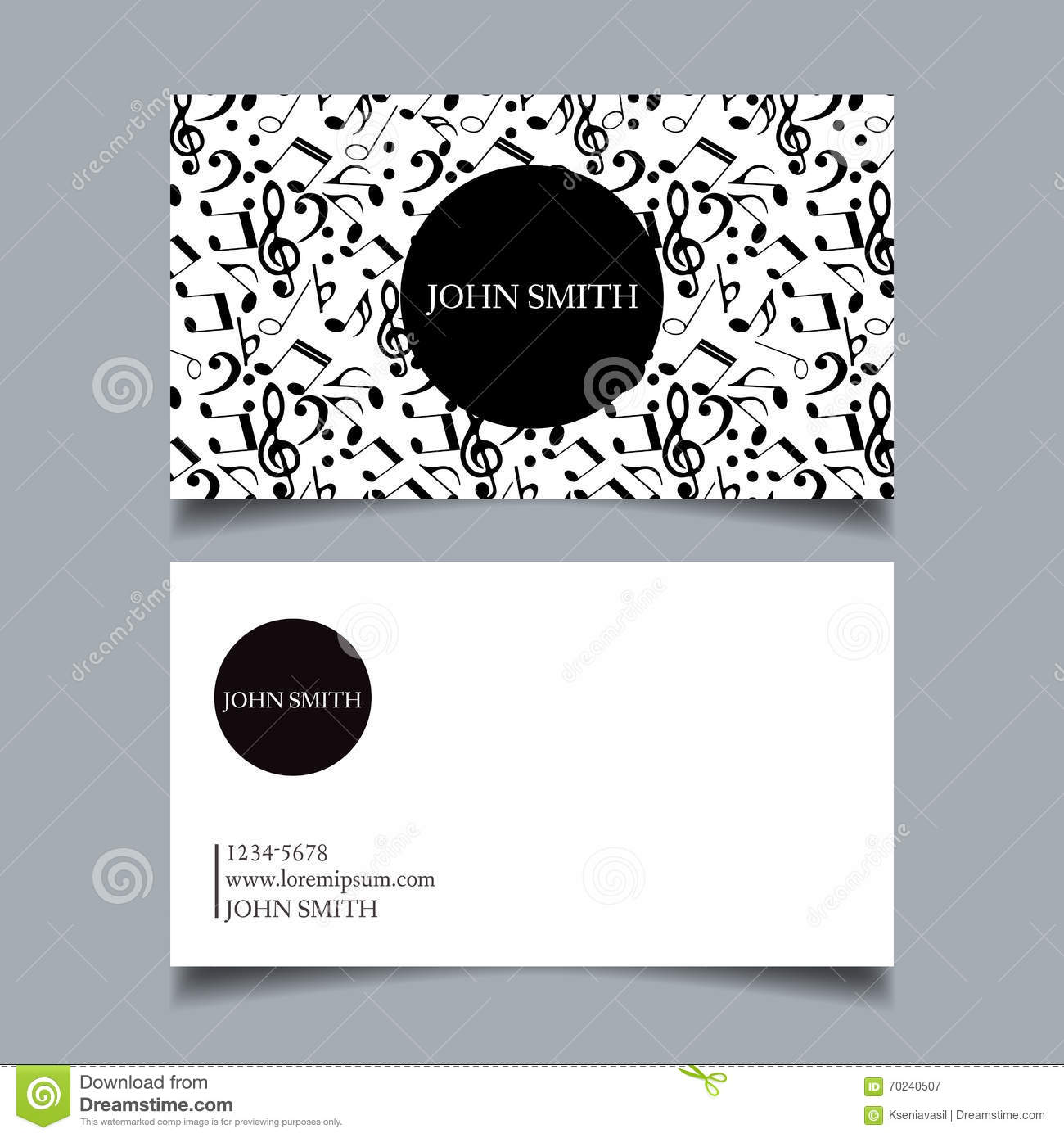 business card design project stock vector illustration of letter