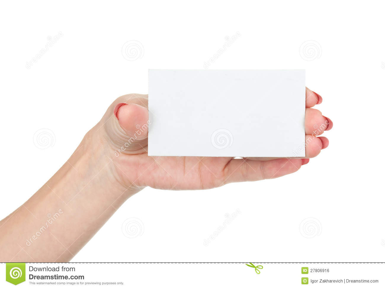 Business card in hand stock photo image of female bulletin royalty free stock photo download business card in hand magicingreecefo Choice Image