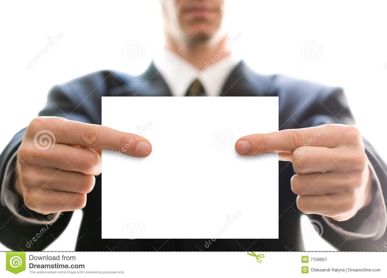 Business card in hands stock image image of hand blank 7156851 business card in hands magicingreecefo Choice Image