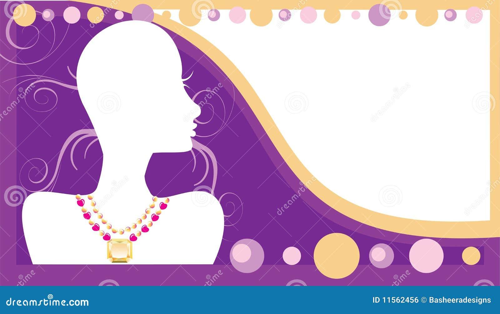 jewellery banner background
