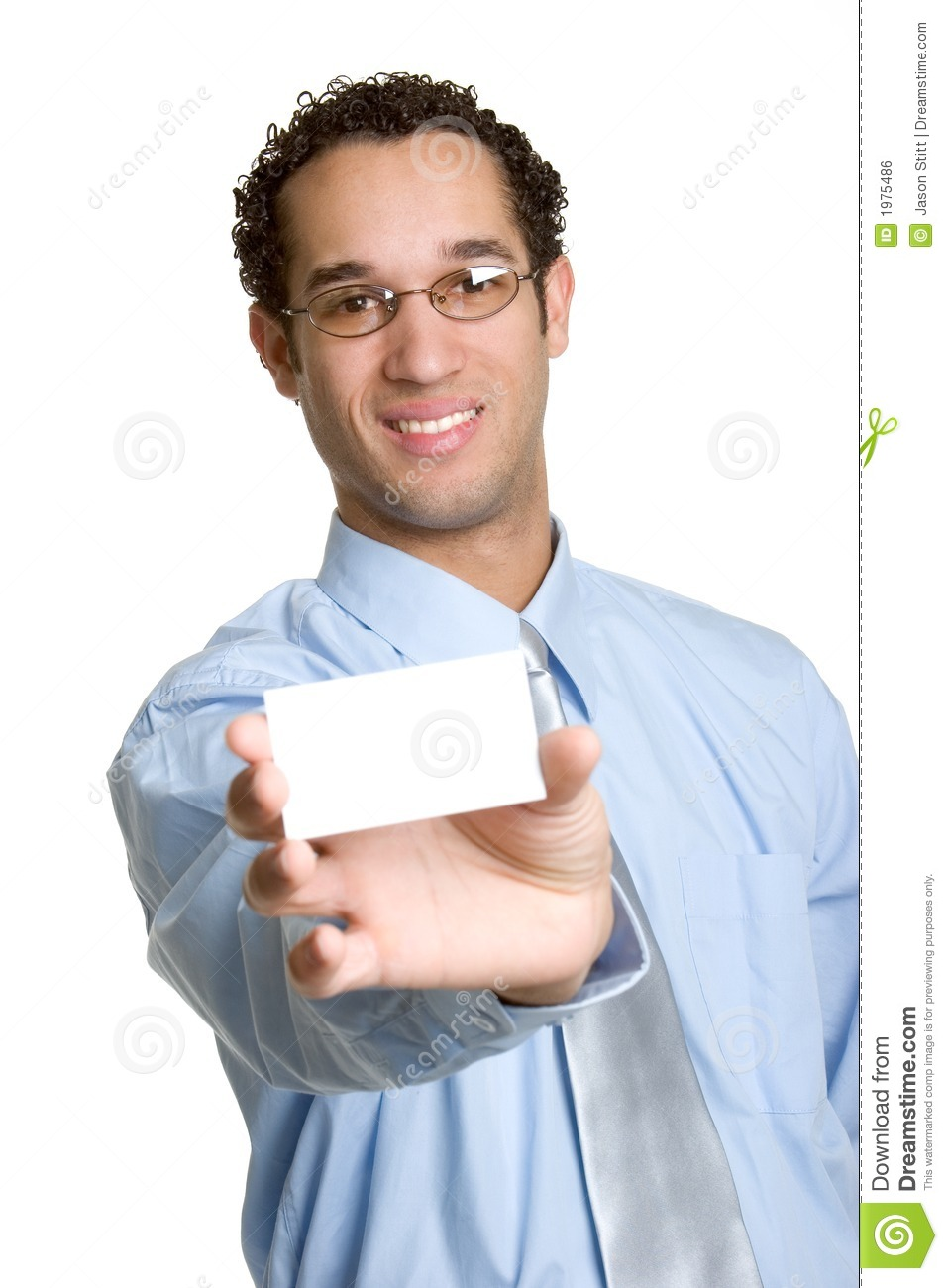 Business Card Man